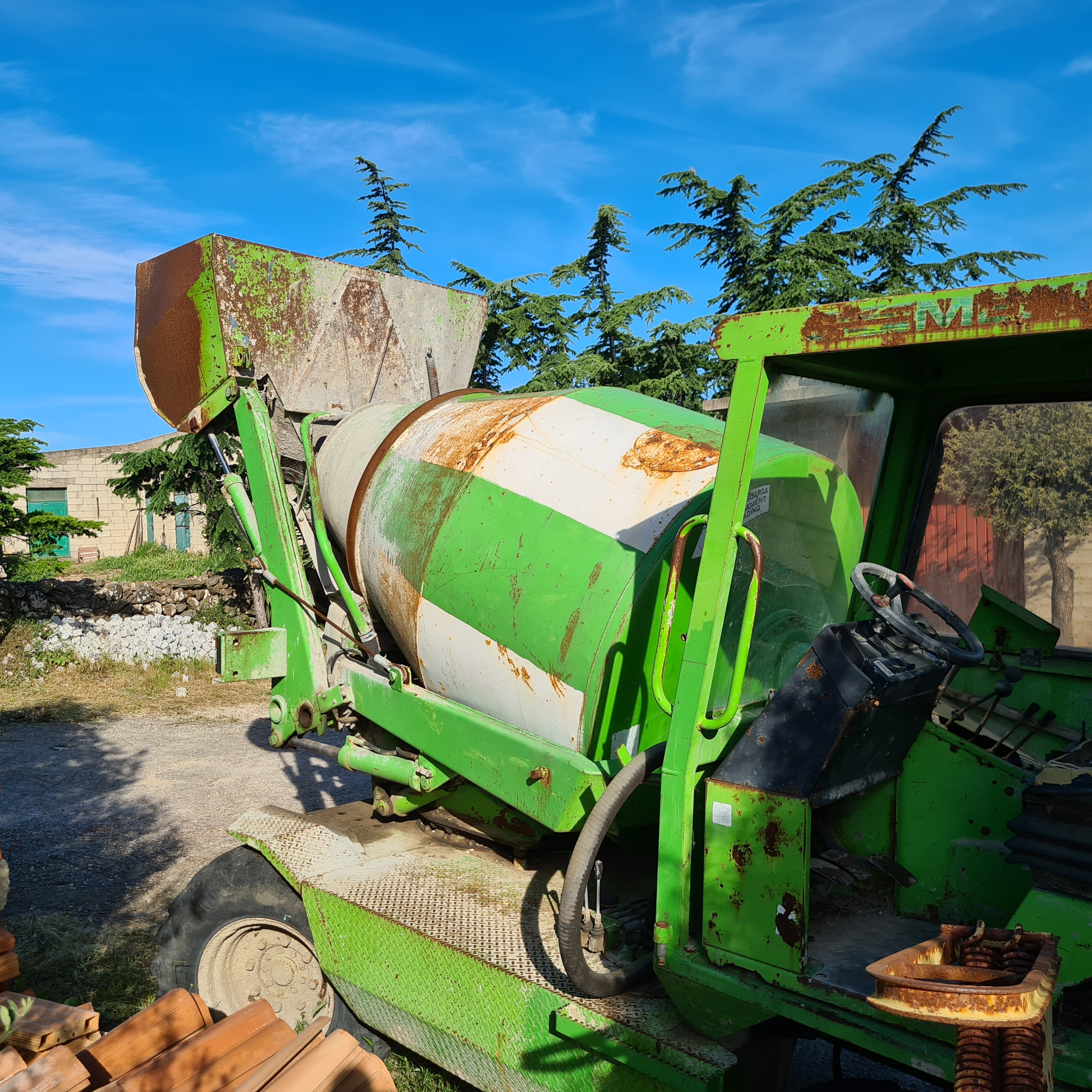 Merlo dumper betoniera dbm 2500 in vendita - foto 8