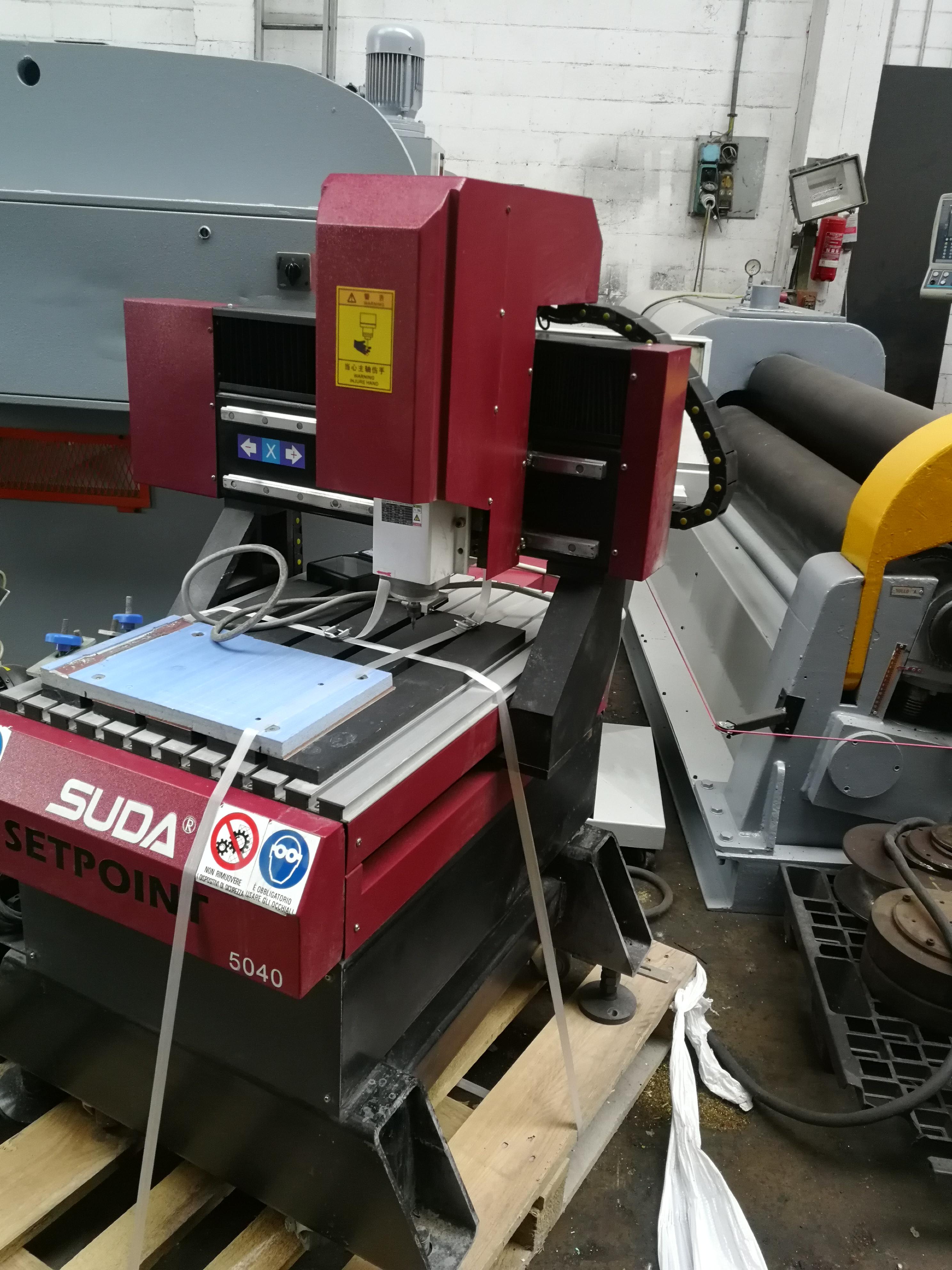 MICRO-FRESATRICE CNC SETPOINT SUDA 5040 in vendita - foto 2