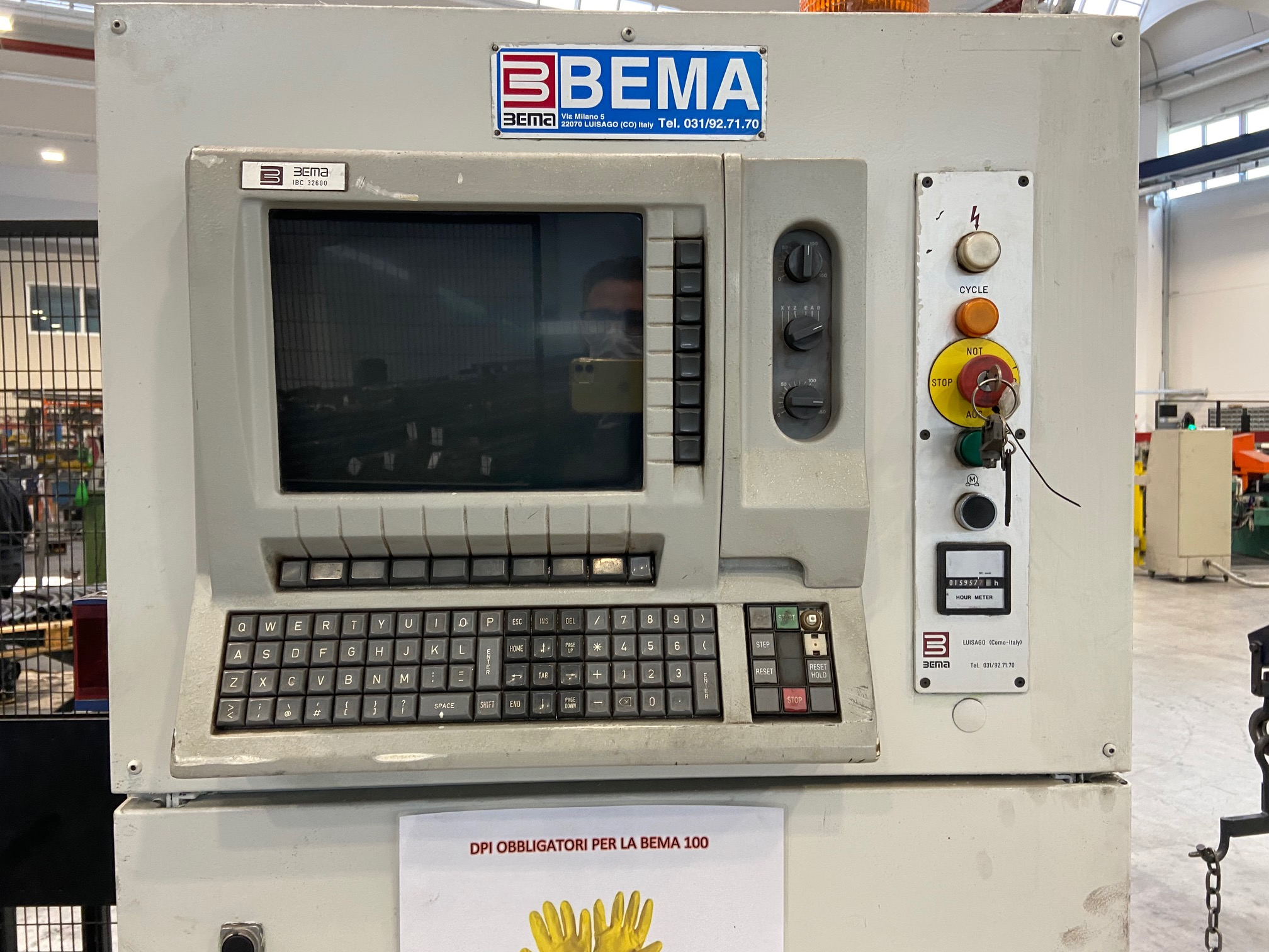 Curvatubi Bema Rekord 100 cnc in vendita - foto 6