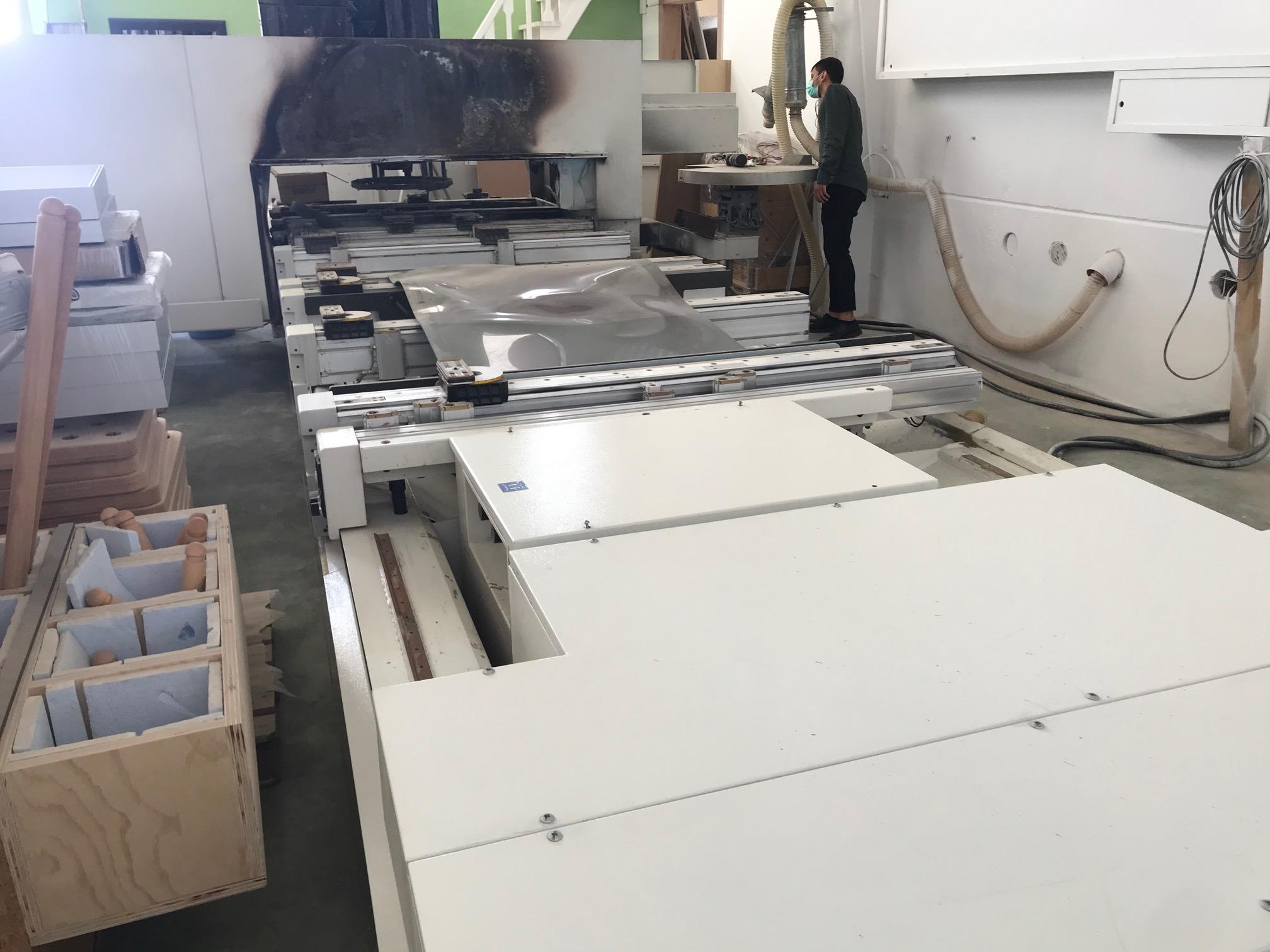 PE0027 - centro di lavoro incidentato SCM Accord 30 Fx in vendita - foto 7