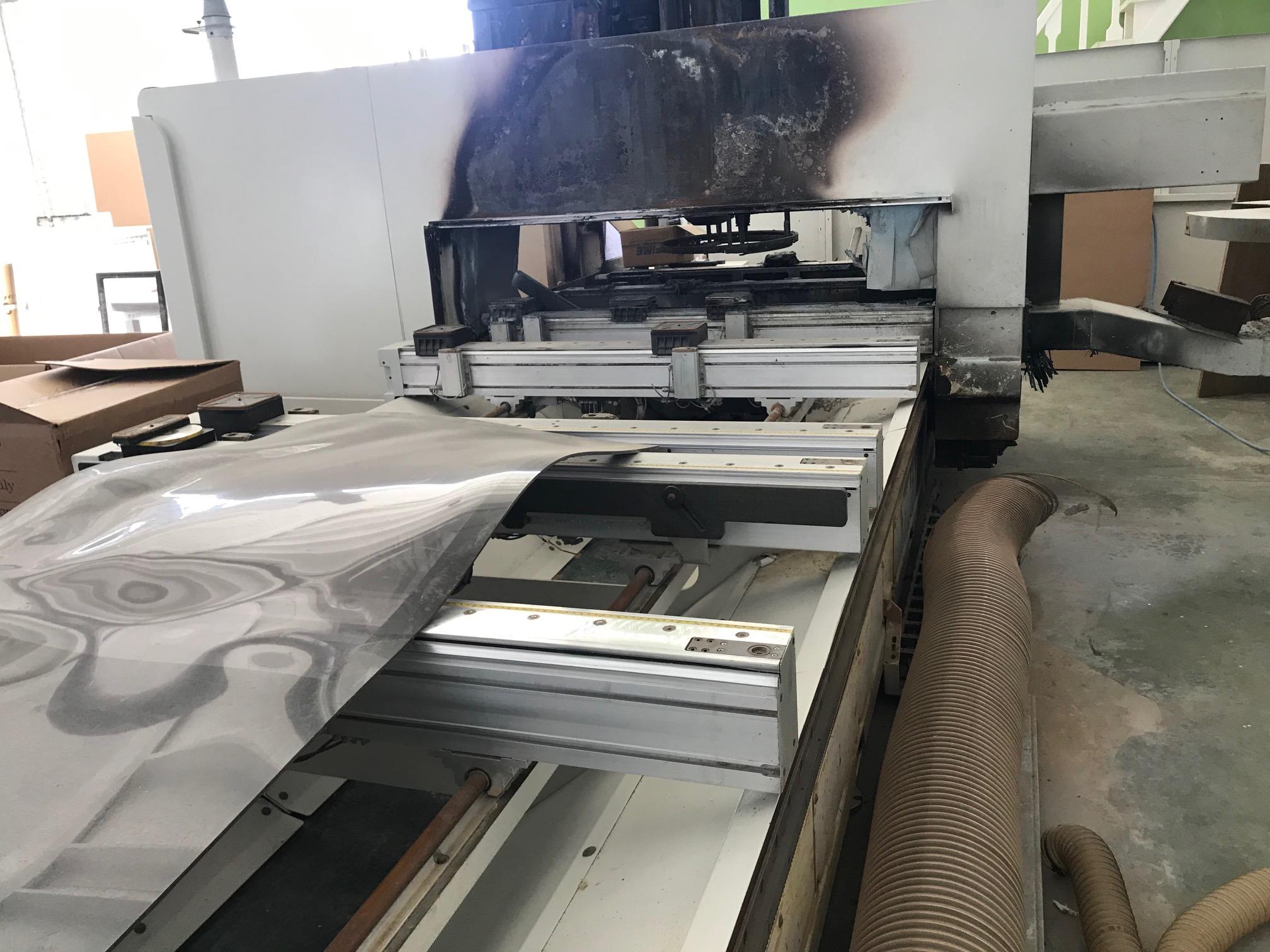PE0027 - centro di lavoro incidentato SCM Accord 30 Fx in vendita - foto 5