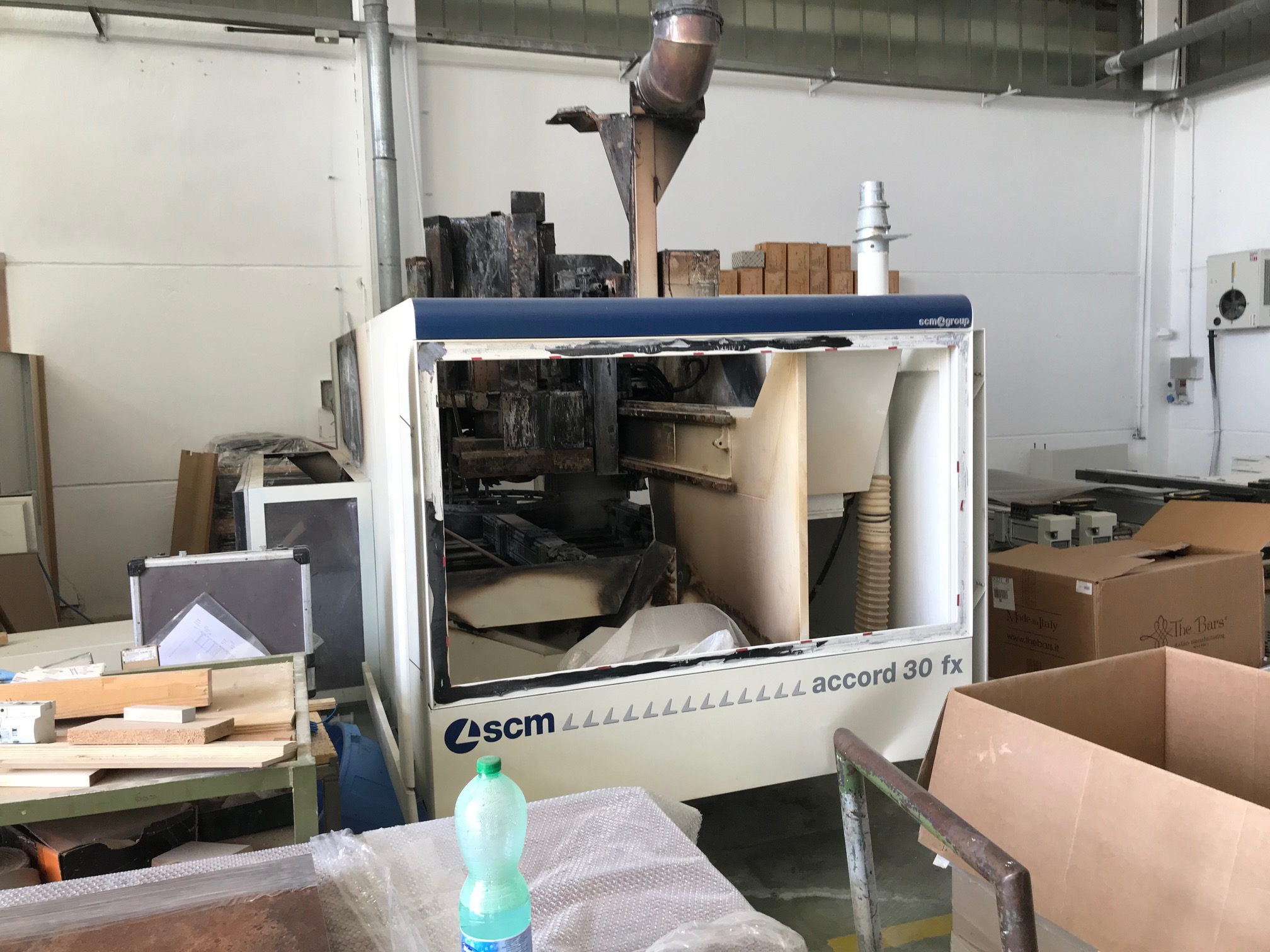PE0027 - centro di lavoro incidentato SCM Accord 30 Fx in vendita - foto 4