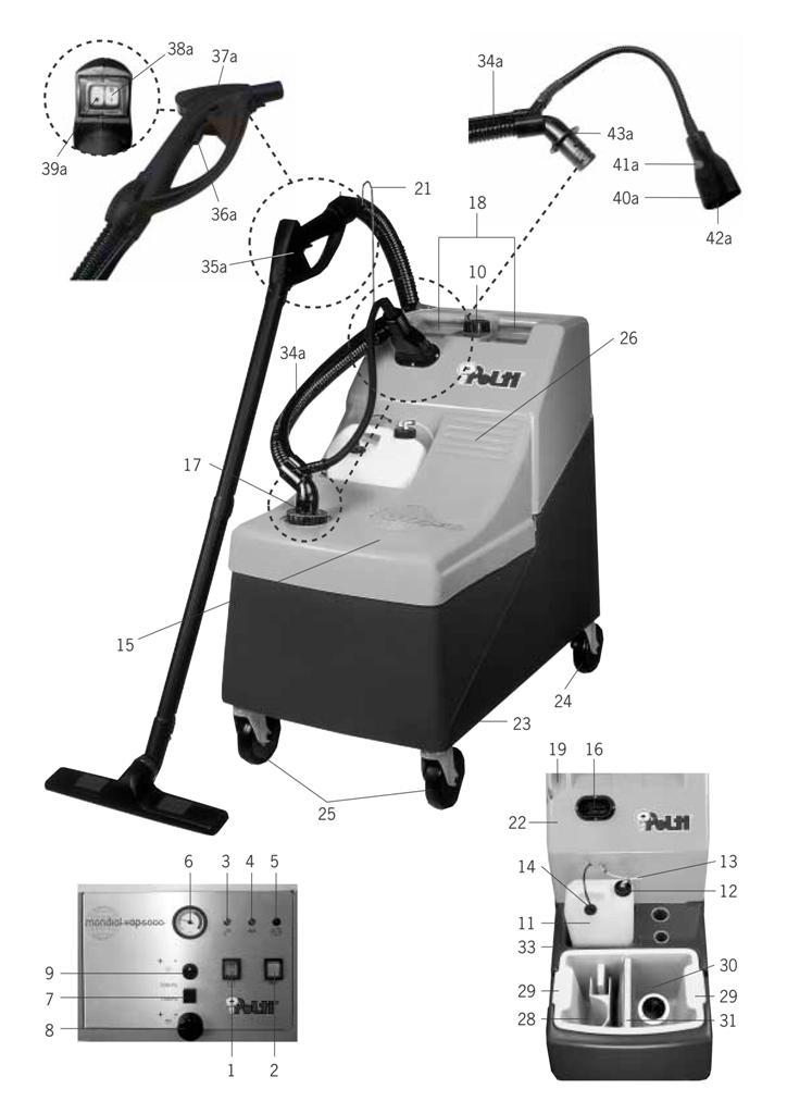 Igienizzatore a vapore  MondialVap 5000 Polti in vendita - foto 10