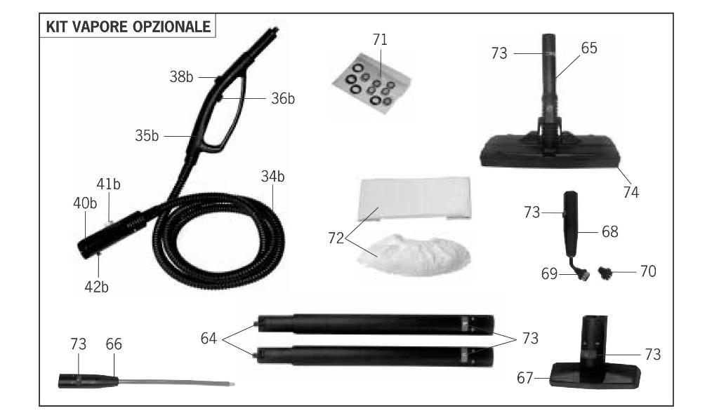 Igienizzatore a vapore  MondialVap 5000 Polti in vendita - foto 12