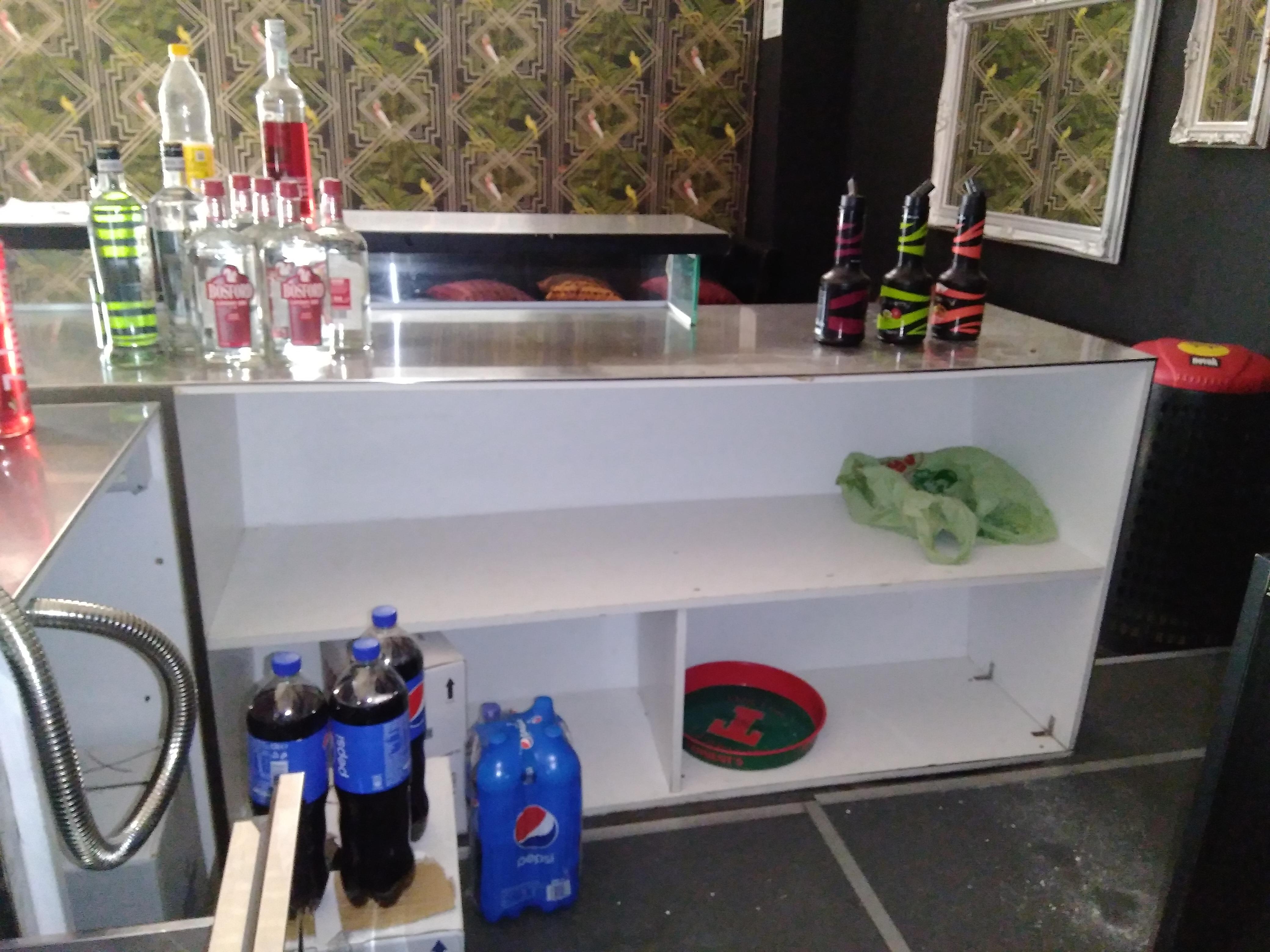 BANCONE BAR ACCIAIO INOX PROFESSIONALE in vendita - foto 4