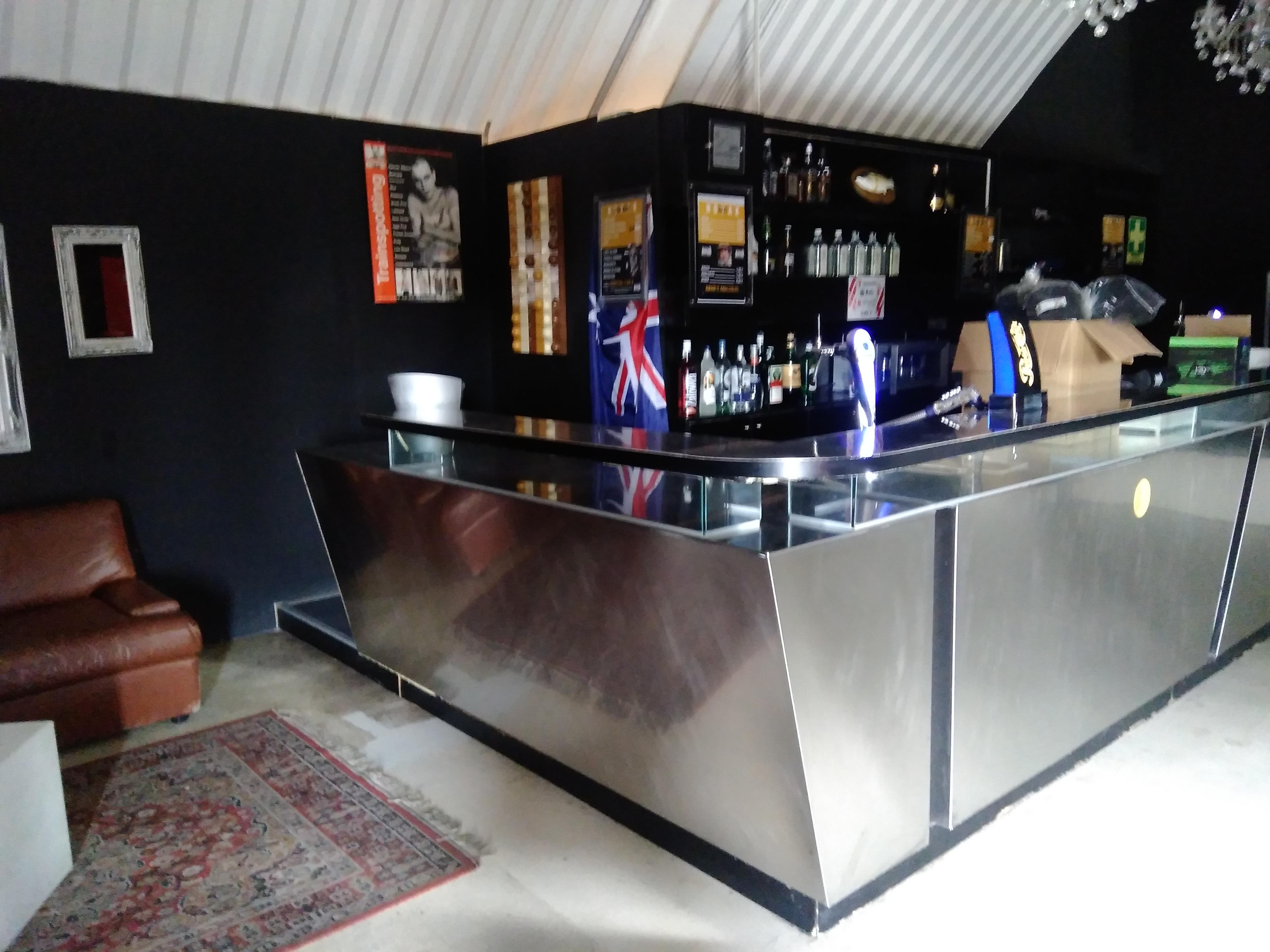 BANCONE BAR ACCIAIO INOX PROFESSIONALE in vendita - foto 3