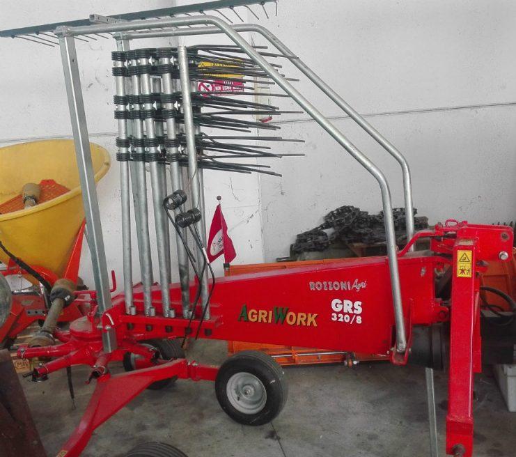 ANDANATORE AGRIWORK 3,20 MT in vendita - foto 2