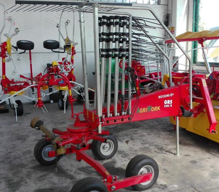 ANDANATORE AGRIWORK 3,20 MT in vendita - foto 1
