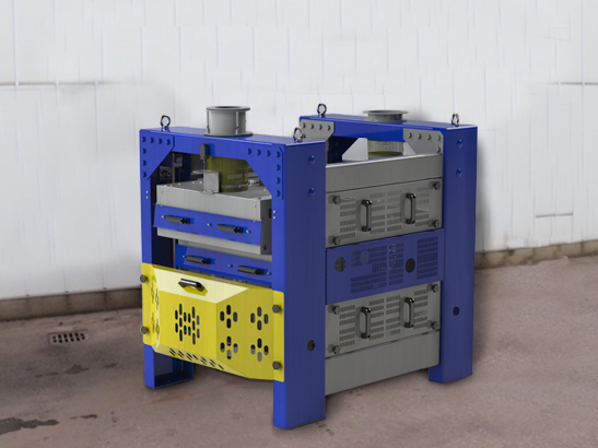 Pulitore Calibratore per Sementi e Cereali BISS 12 t/h in vendita - foto 1