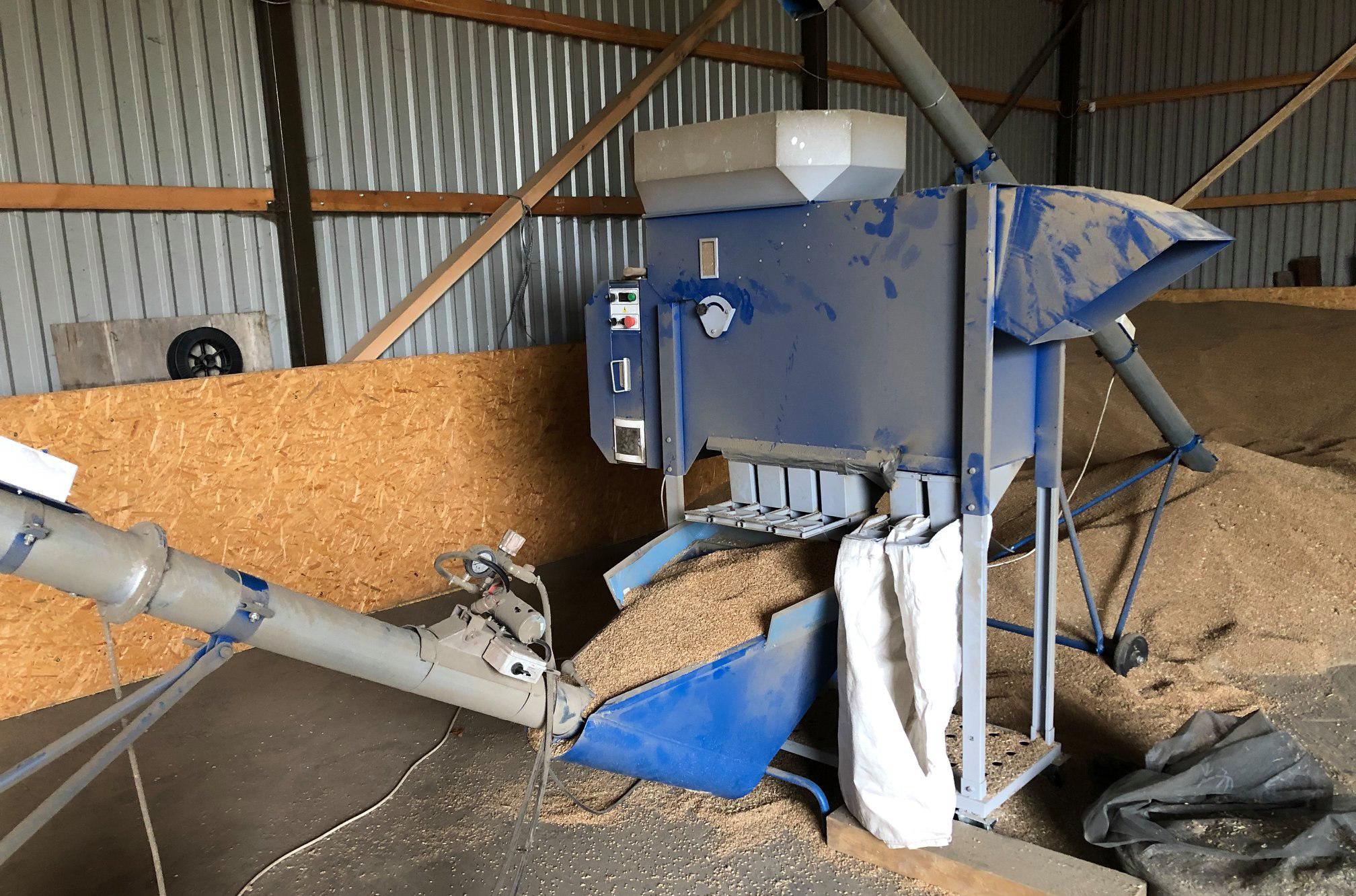 Pulitore Calibratore per Sementi e Cereali ASM 5 t/h in vendita - foto 3