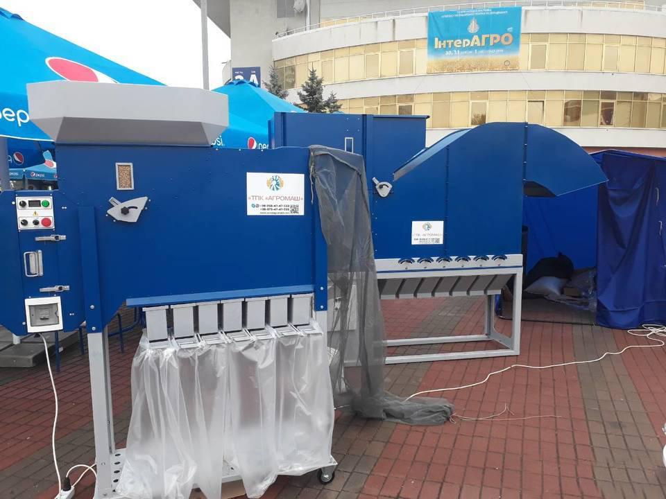 Pulitore Calibratore per Sementi e Cereali ASM 5 t/h in vendita - foto 6