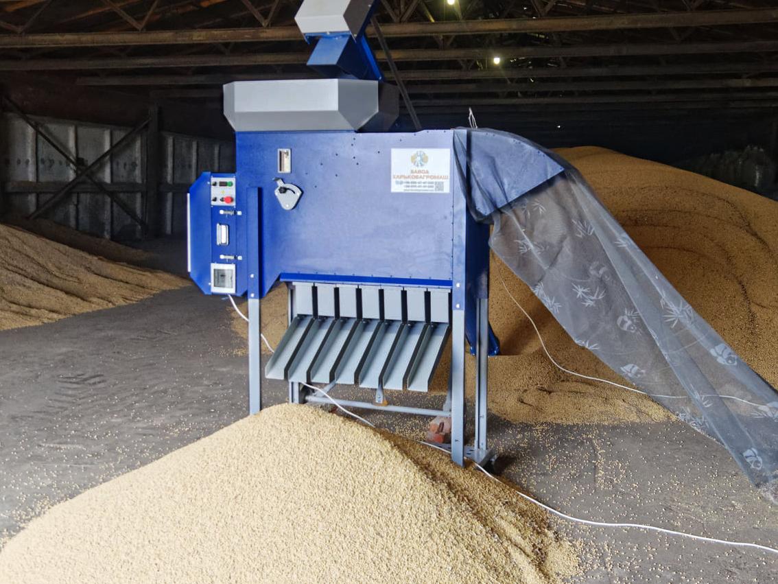 Pulitore Calibratore per Sementi e Cereali ASM 5 t/h in vendita - foto 5