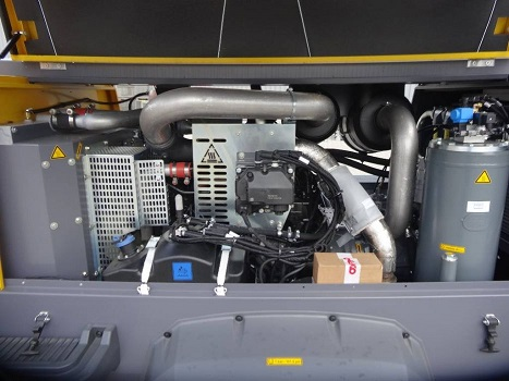 Compressore Atlas Copco Xavs 186 Jd in vendita - foto 3