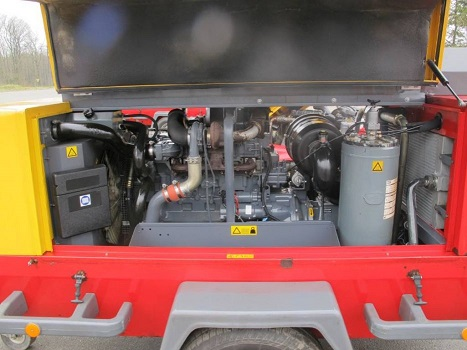 Compressore Atlas Copco Xahs 186 in vendita - foto 5
