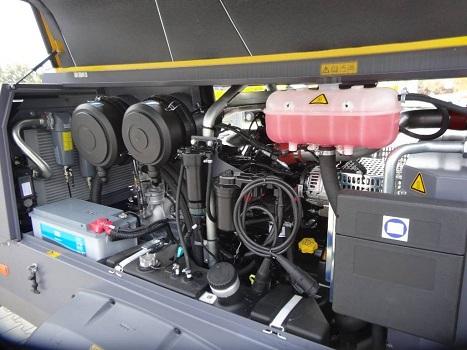 Compressore Atlas Copco Xavs 186 Jd in vendita - foto 5