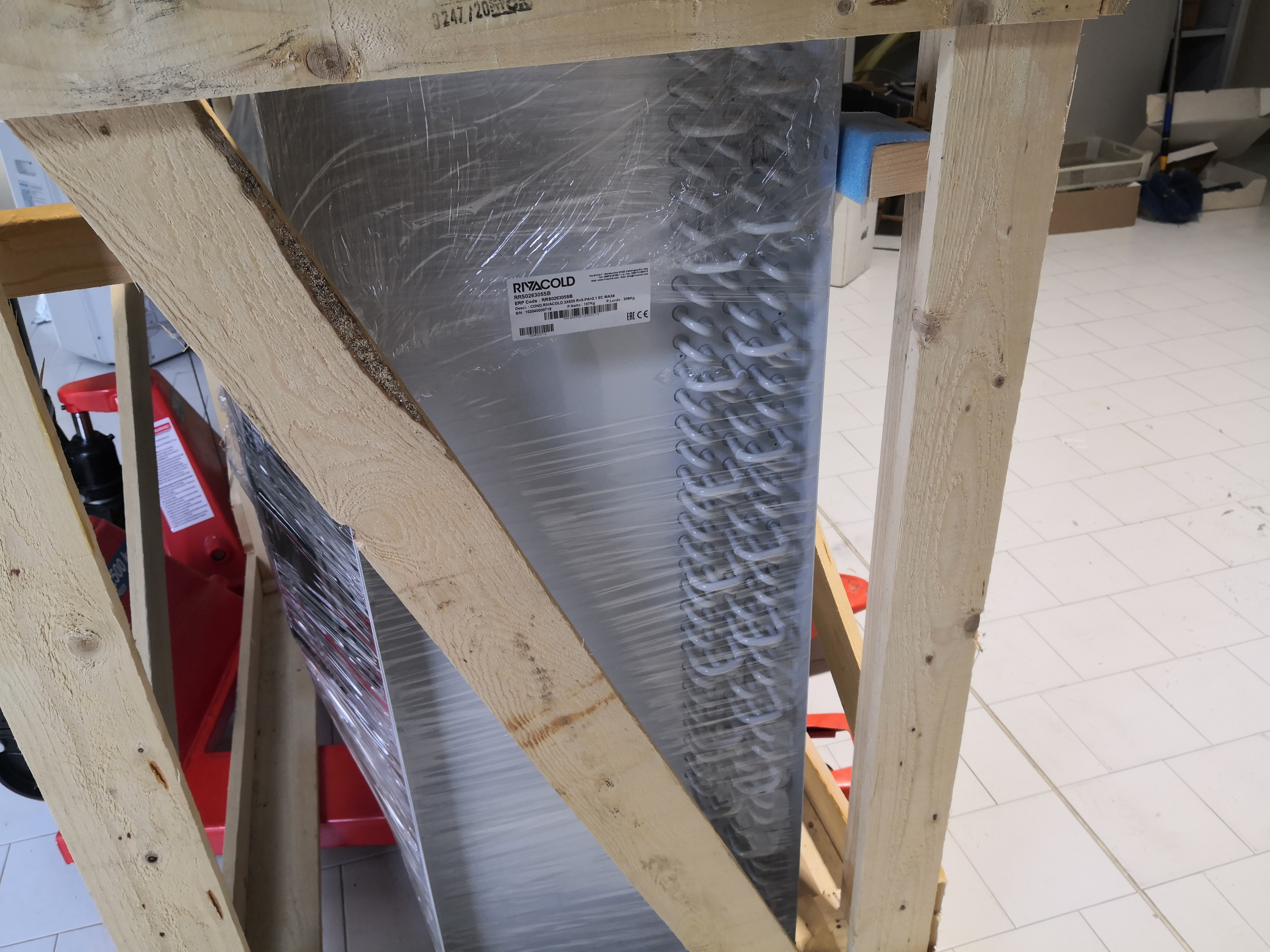 Condensatore scambiatore per refrigerazione in vendita - foto 6