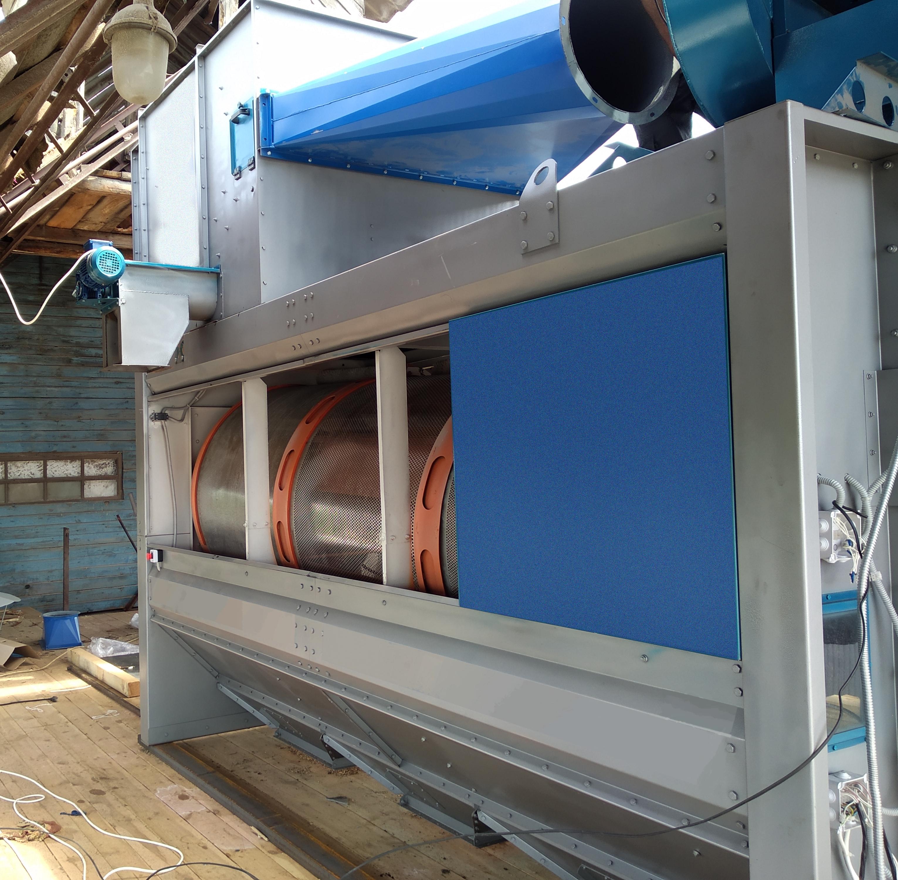 Separatore a tamburo BS-30 per la pulizia del grano in vendita - foto 2