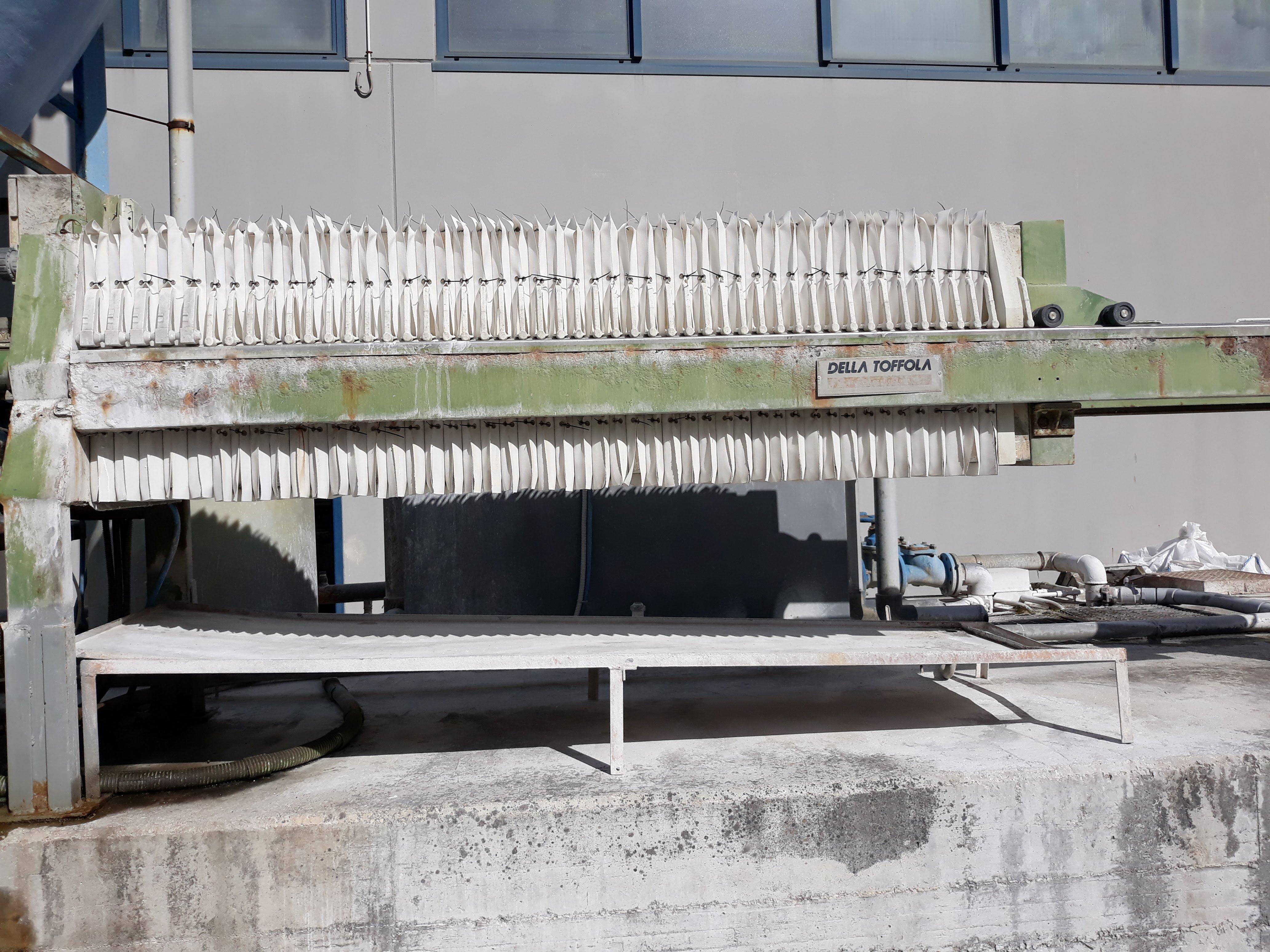 Impianto depurazione acque + filtro pressa  in vendita - foto 4