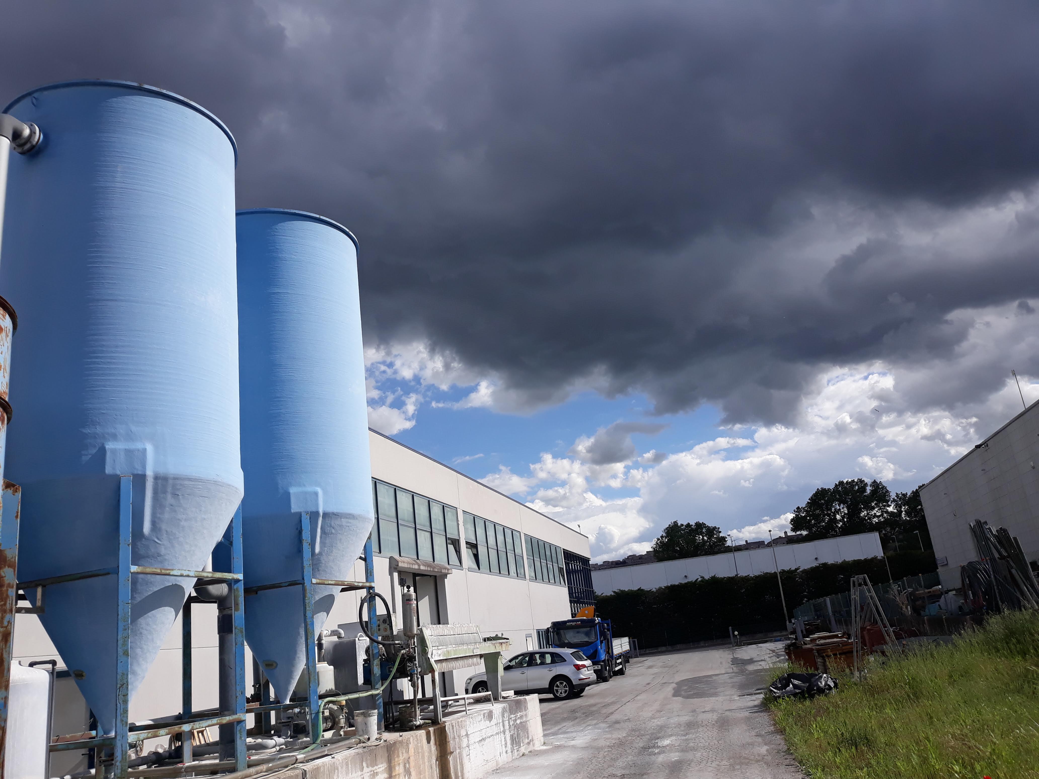 Impianto depurazione acque + filtro pressa  in vendita - foto 5