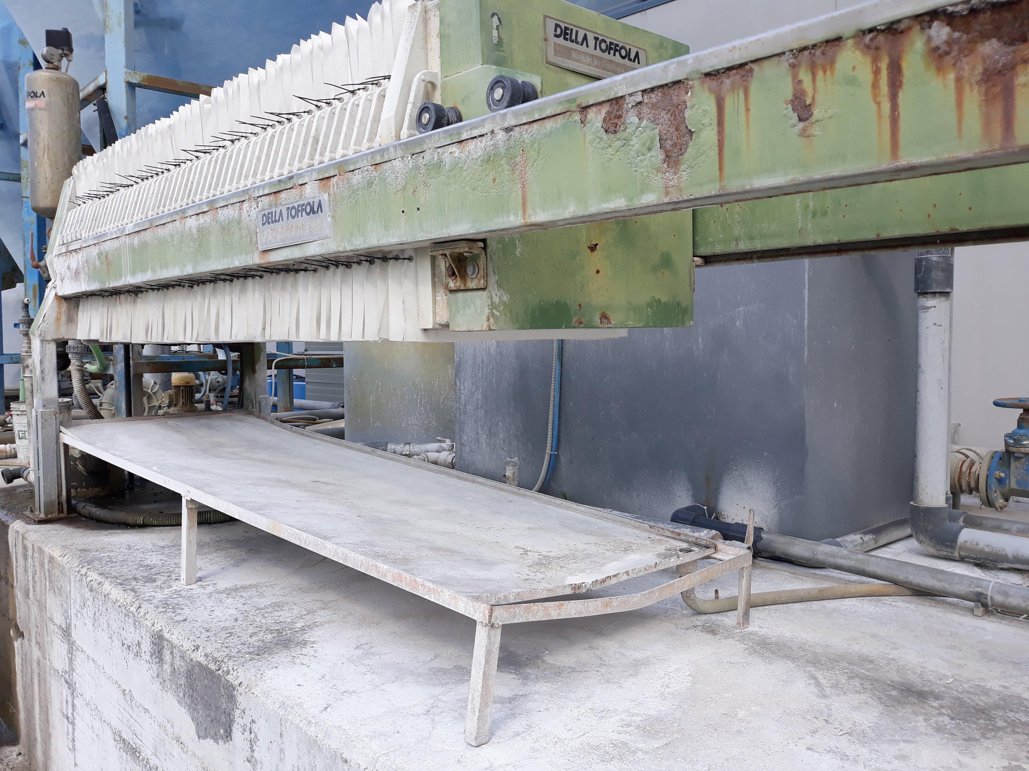 Impianto depurazione acque + filtro pressa  in vendita - foto 2