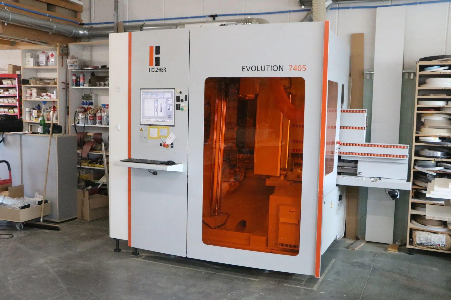 Centro di lavoro CNC HOLZ-HER EVOLUTION 7405  in vendita - foto 1
