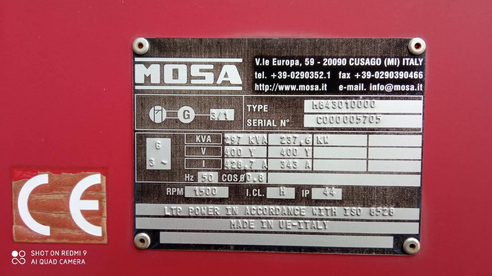 Generatore MOSA GE 305 FMSX in vendita - foto 4
