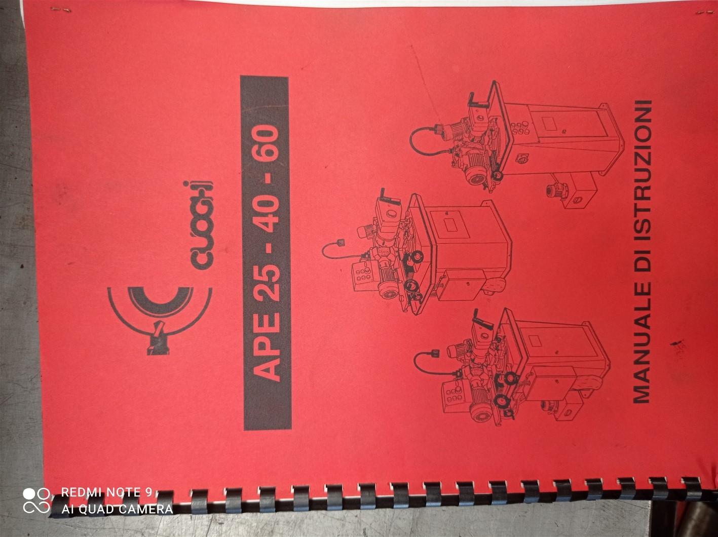 Affilatrice utensili CUOGHI APE 40 in vendita - foto 6