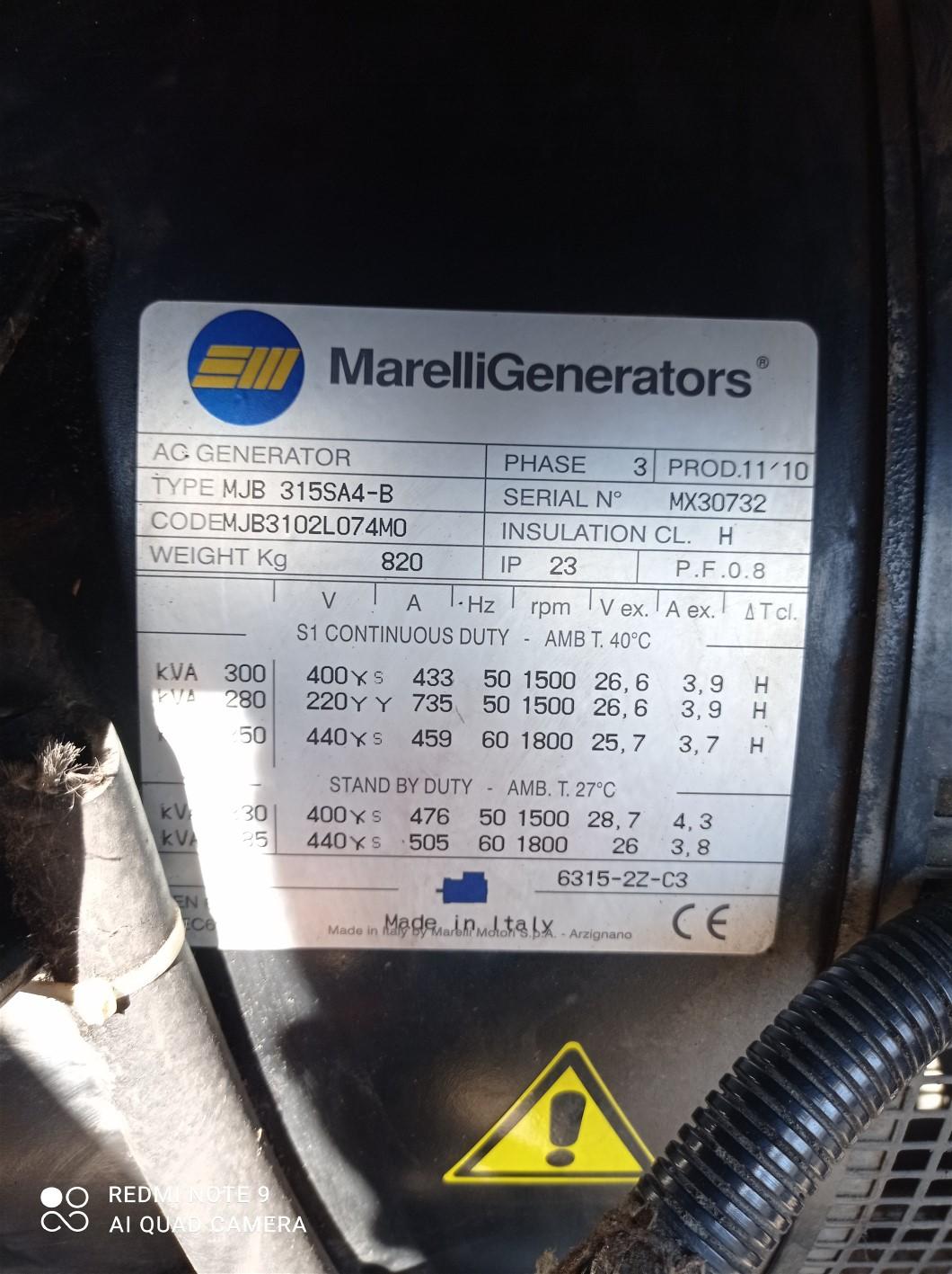 Generatore MOSA GE 305 FMSX in vendita - foto 5