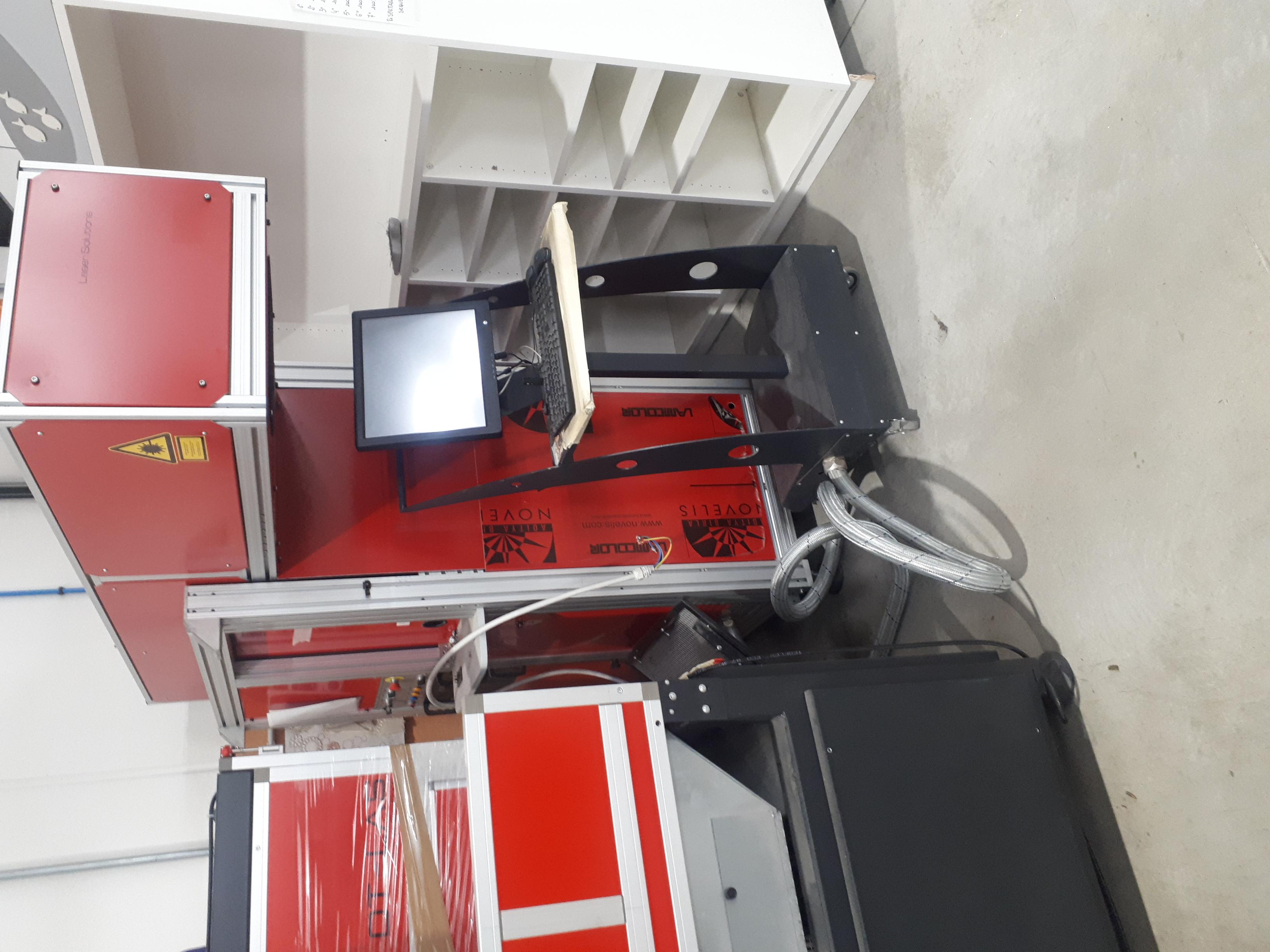 MACCHINA LASER MODELLO GX 25/60 in vendita - foto 1