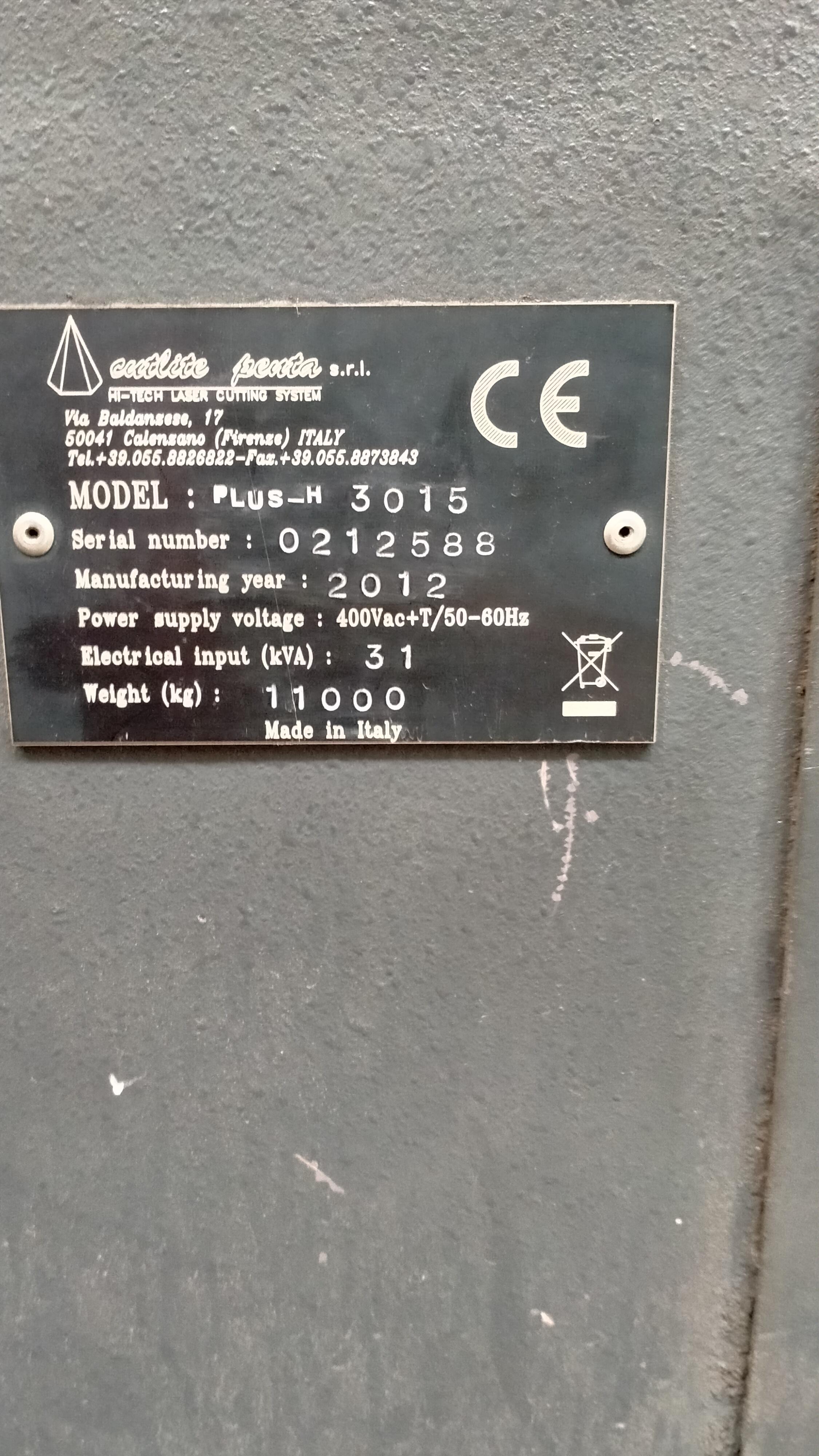 Laser taglio lamiera in vendita - foto 4