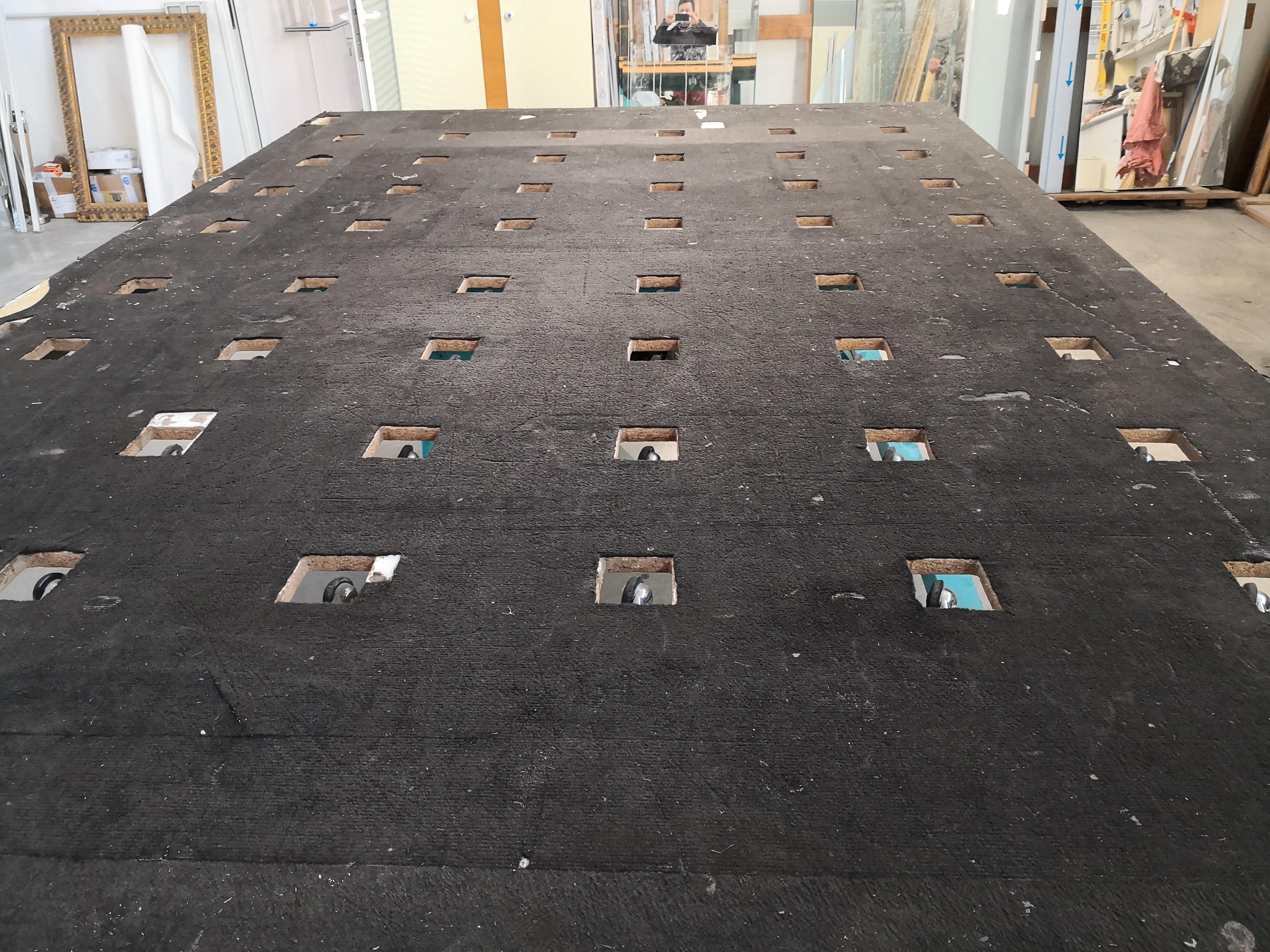 Tavolo per la lavorazione del vetro in vendita - foto 8