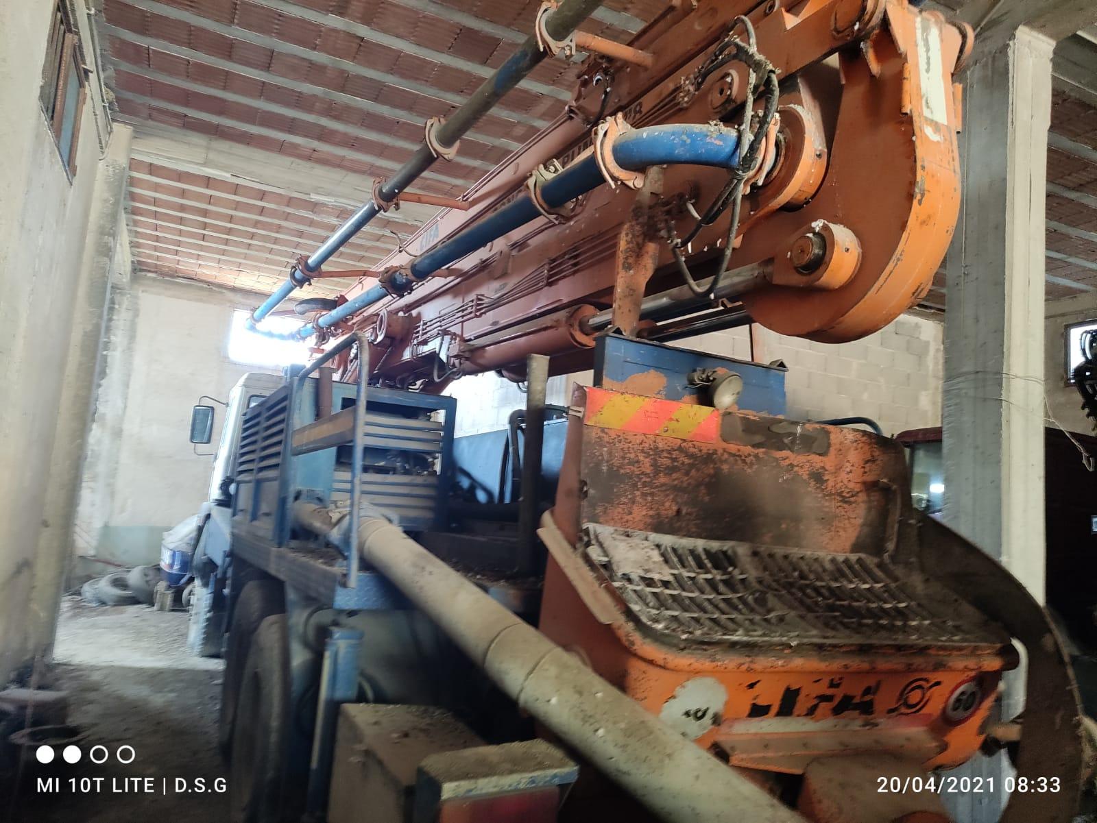 pompa per cemento in vendita - foto 4