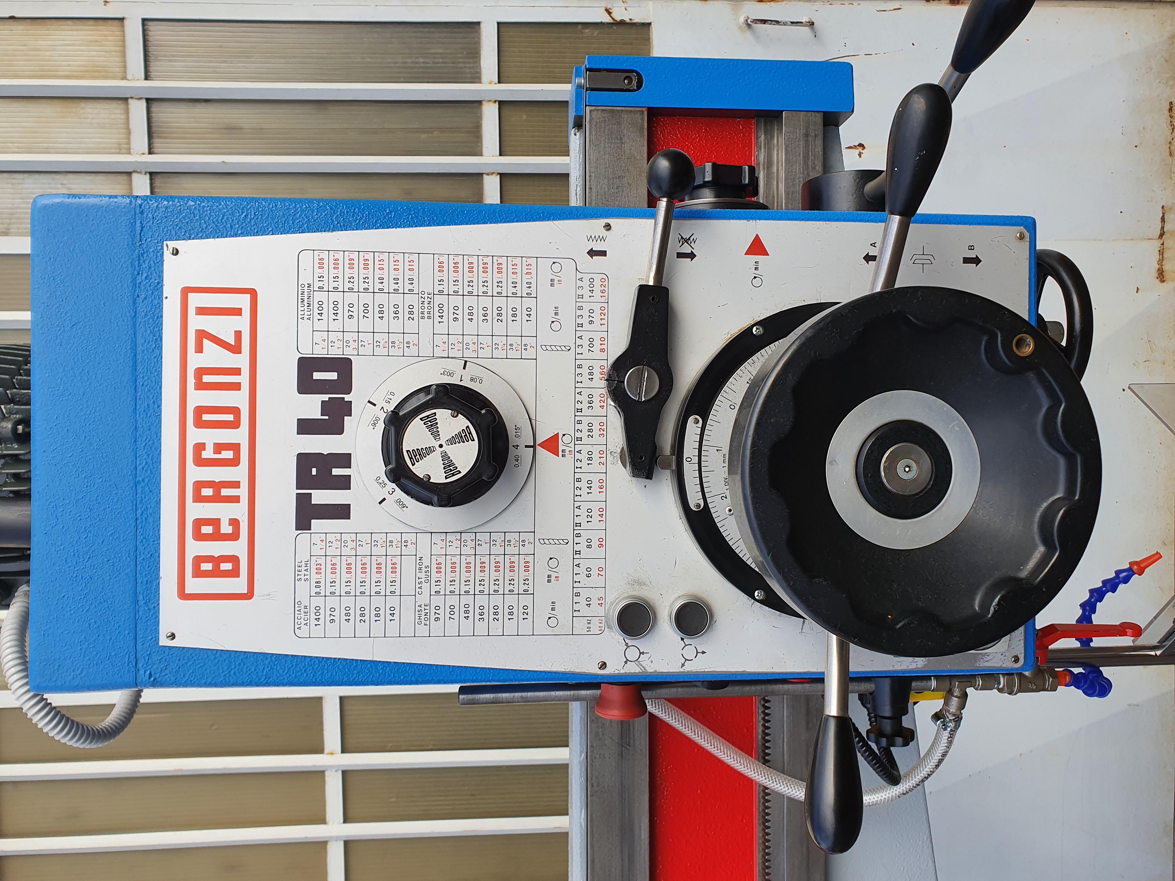 TRAPANO RADIALE BERGONZI TR 40 REVISIONATO in vendita - foto 3