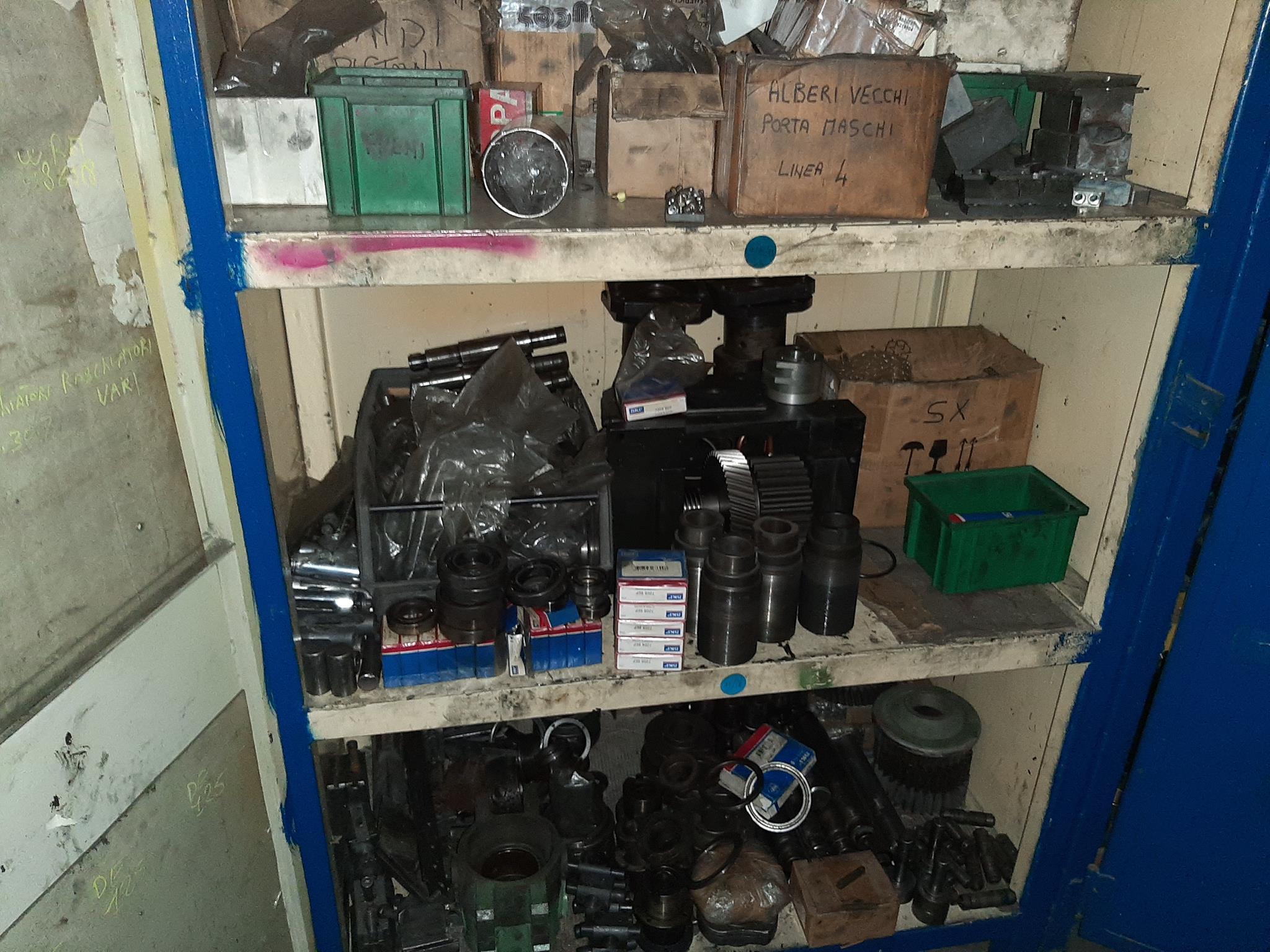Parti ricambio per presse, colonne, macchinari utensili in vendita - foto 4