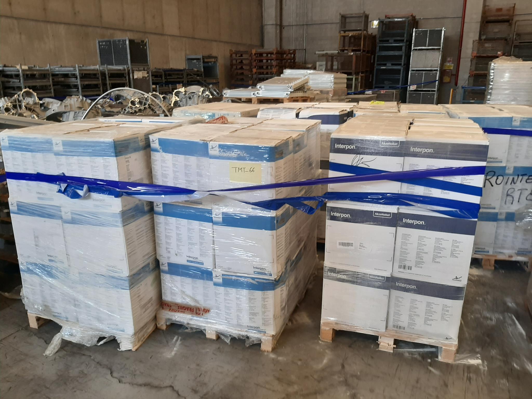 Scatole polvere verniciante e materiale in vendita - foto 1
