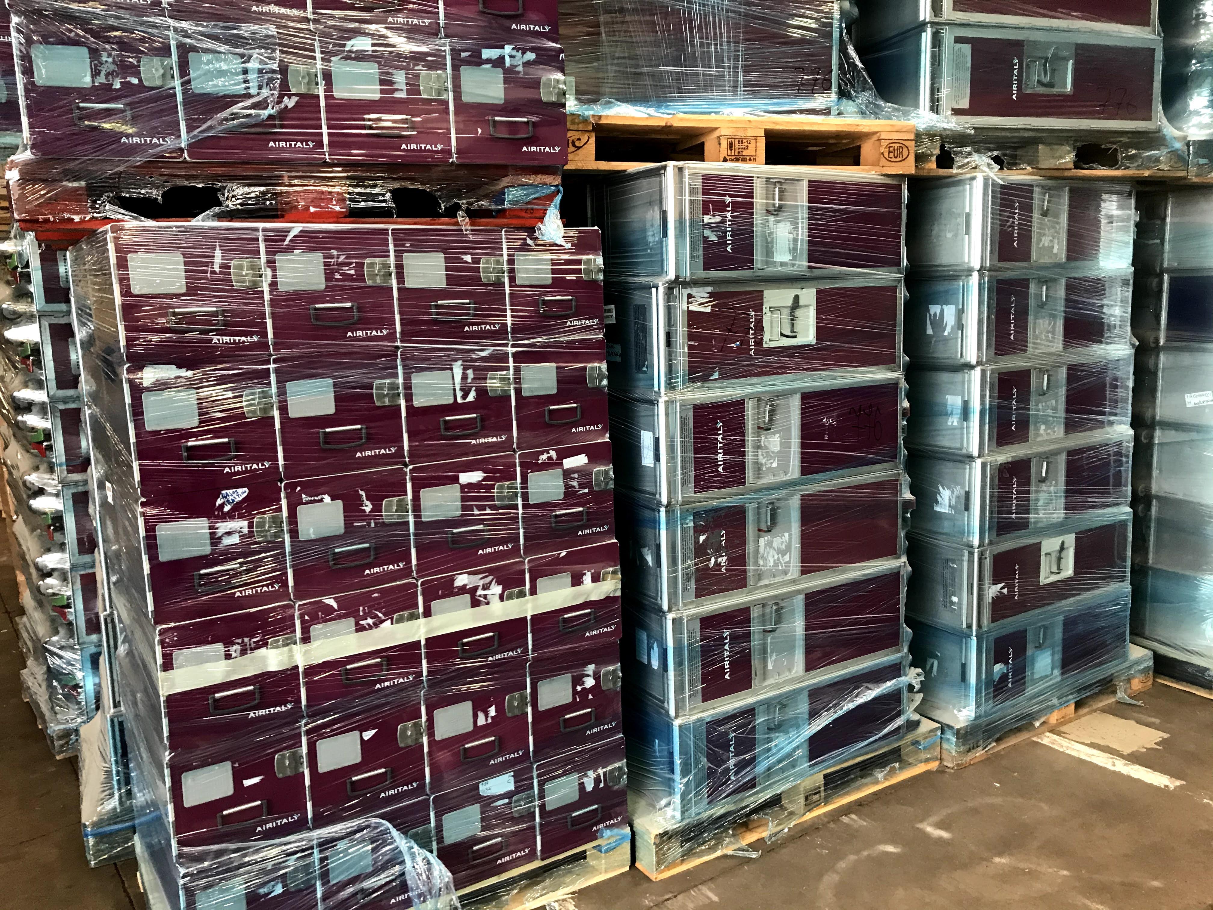 Carrelli portavivande usati e nuovi per Aereo  in vendita - foto 10
