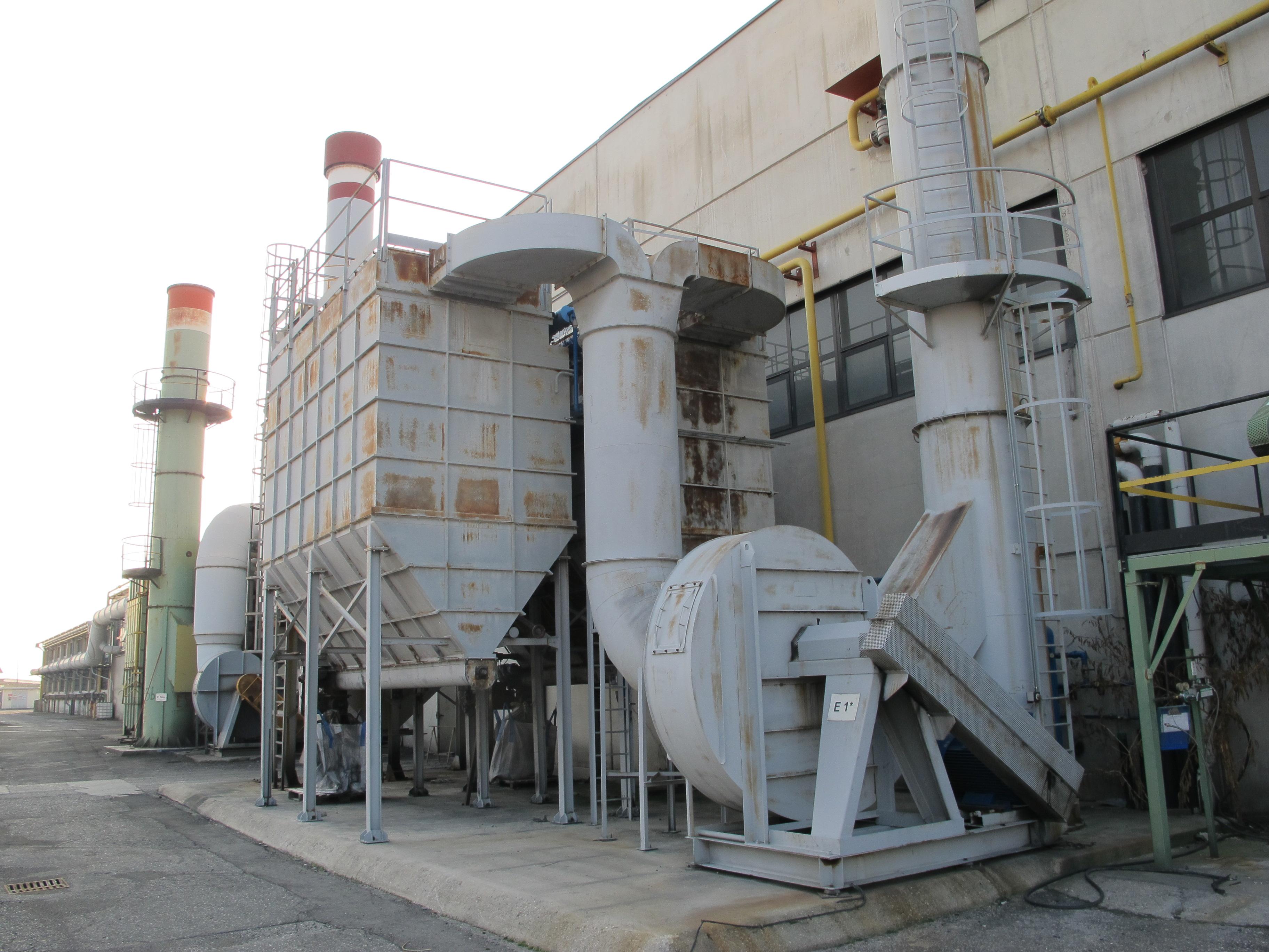 Impianto aspirazione forni con scambiatore - IMP2 in vendita - foto 1