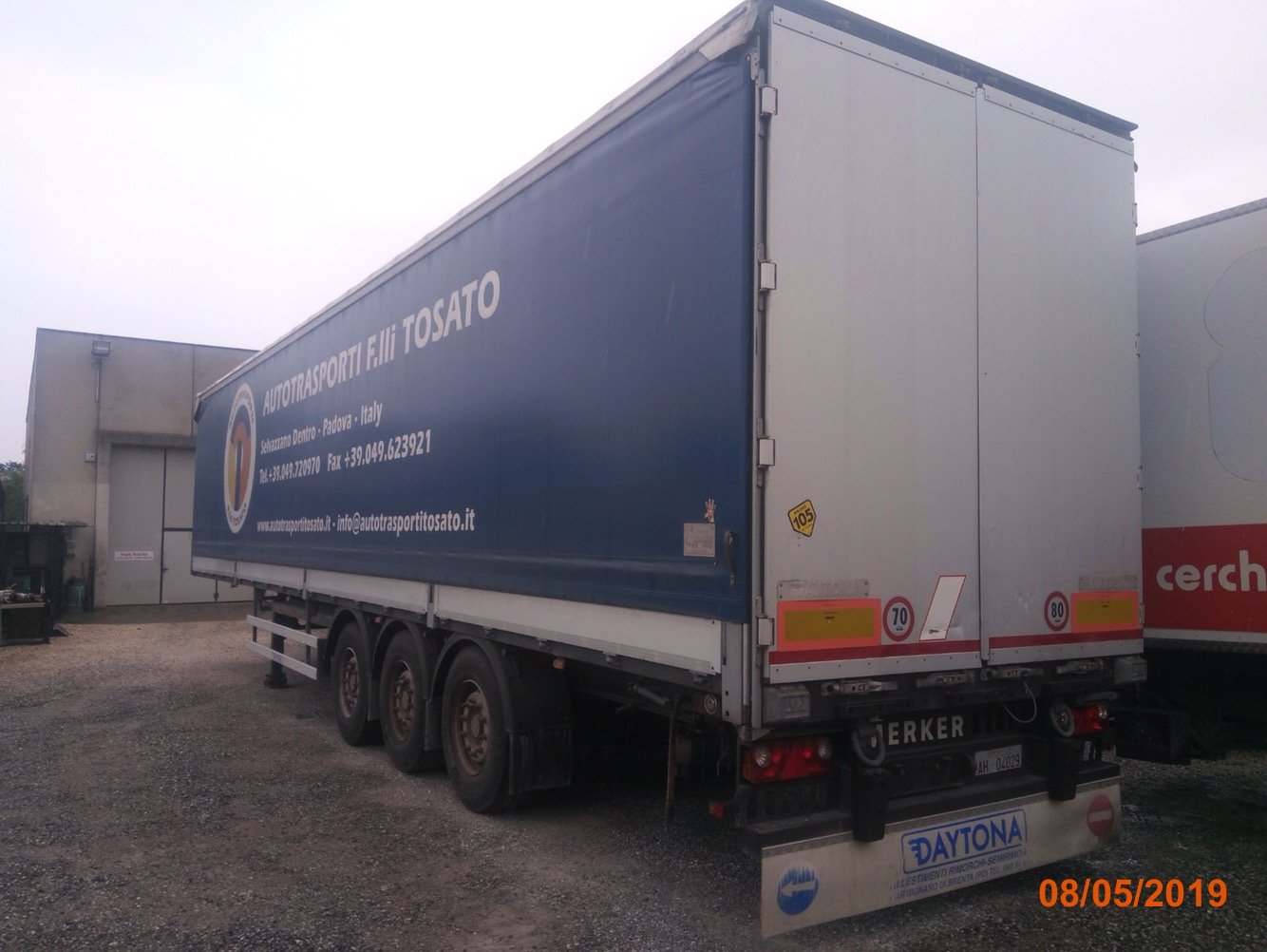 SEMIRIMORCHIO MERKER in vendita - foto 3
