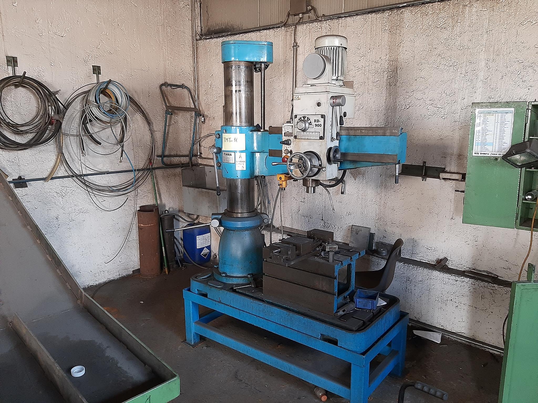 Trapano radiale Itama e materiale ferroso vario in vendita - foto 7