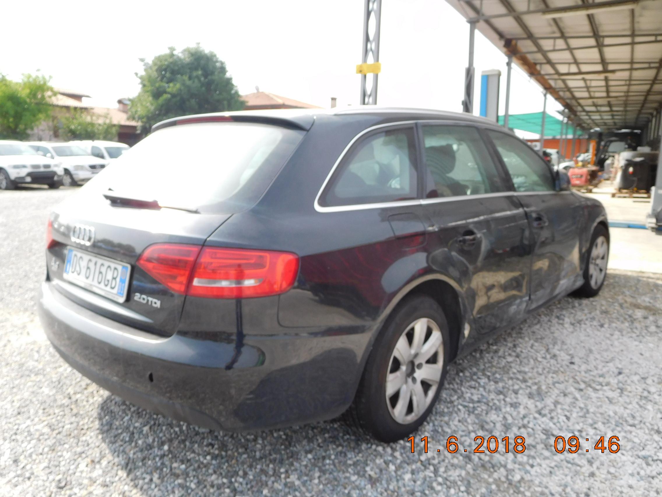 AUDI A4 INCIDENTATA in vendita - foto 5