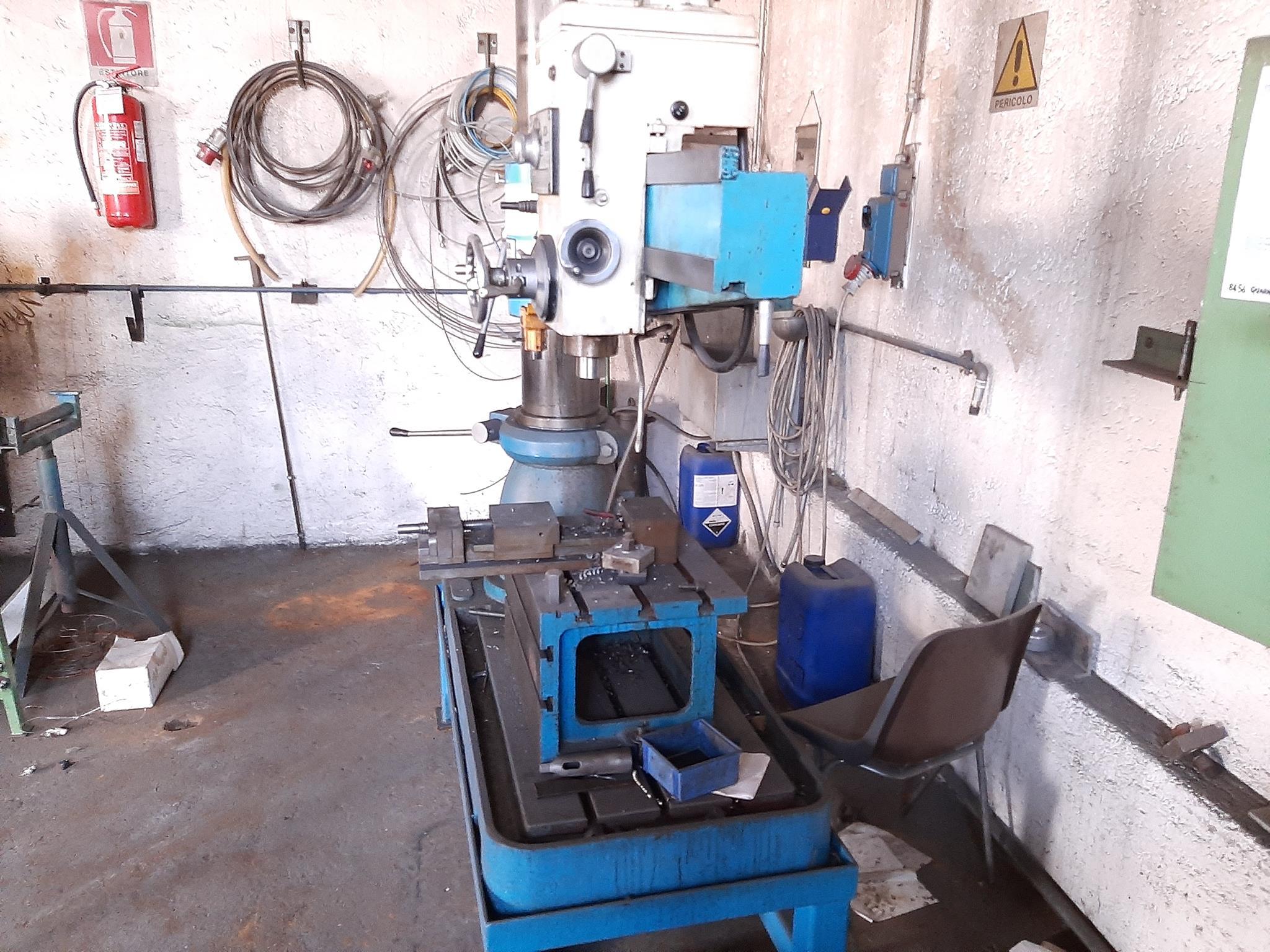 Trapano radiale Itama e materiale ferroso vario in vendita - foto 4