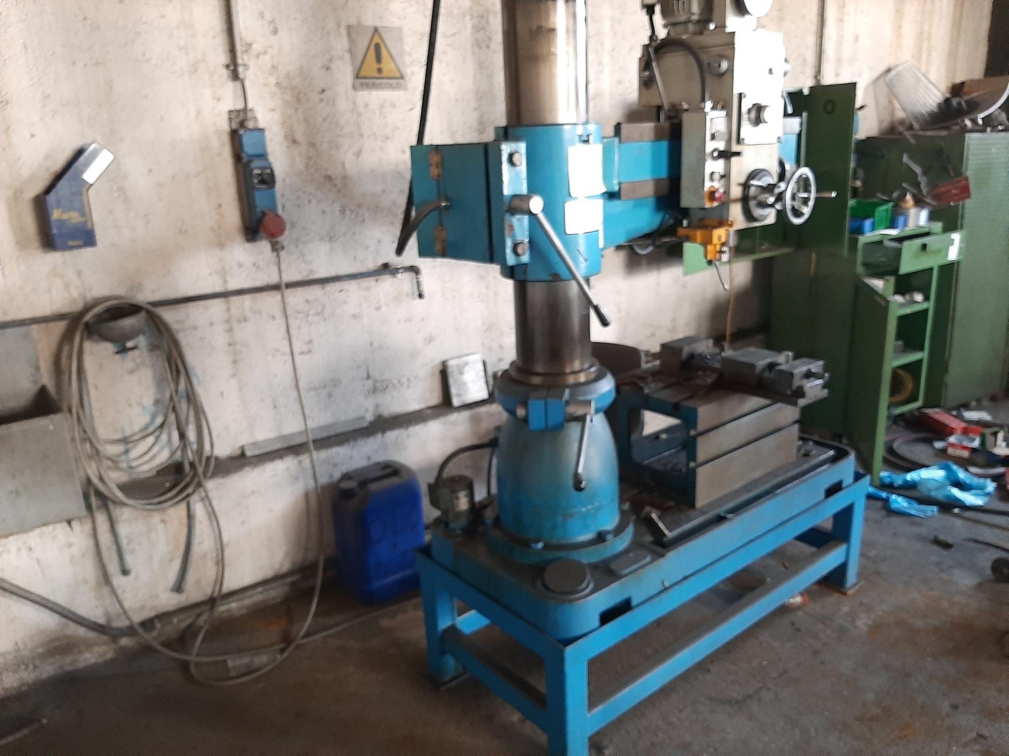 Trapano radiale Itama e materiale ferroso vario in vendita - foto 3