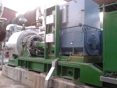 Impianto di cogenerazione ORC a turbina radiale in vendita - foto 2