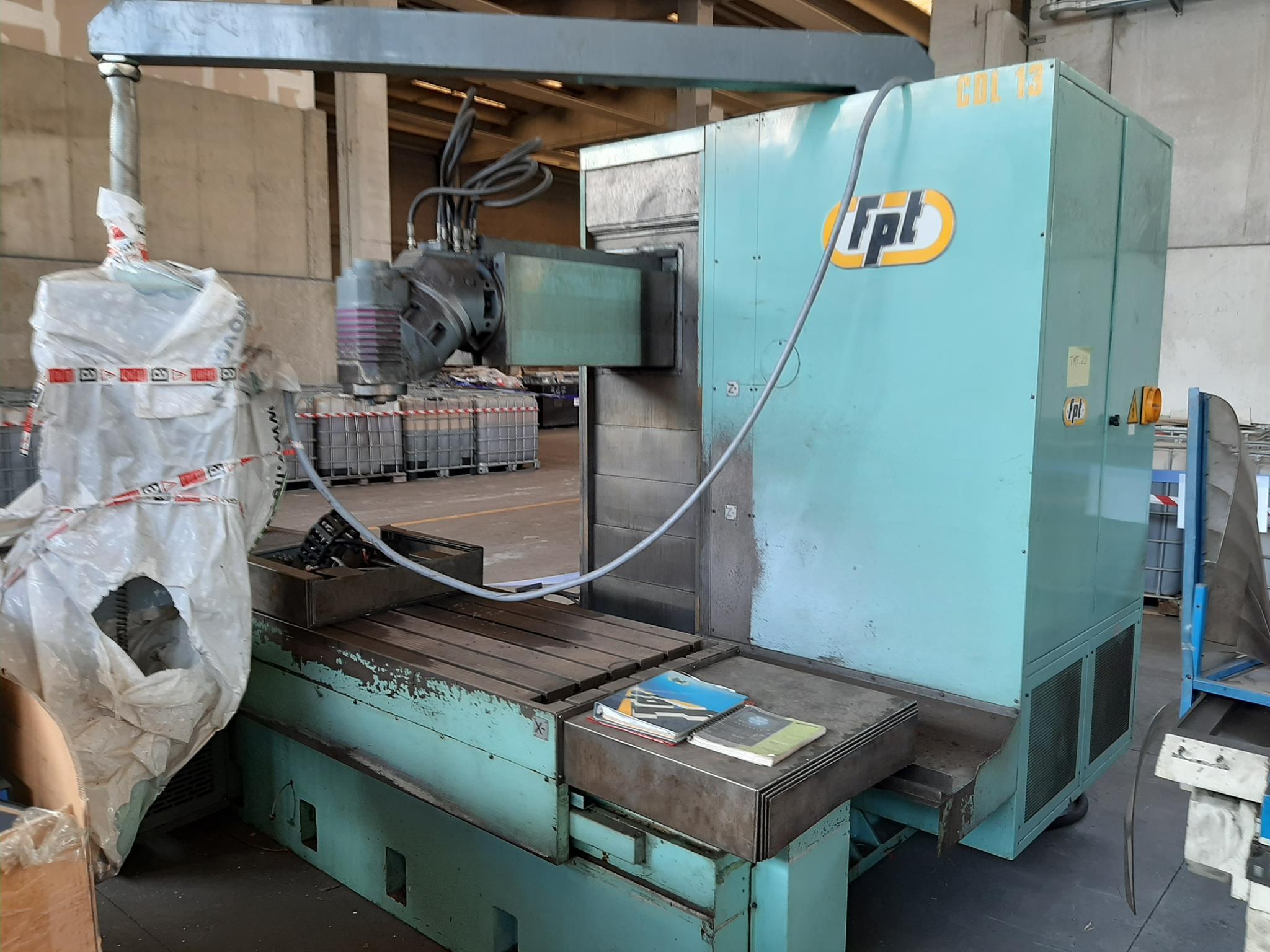 Fresatrice a banco fisso FPT in vendita - foto 2