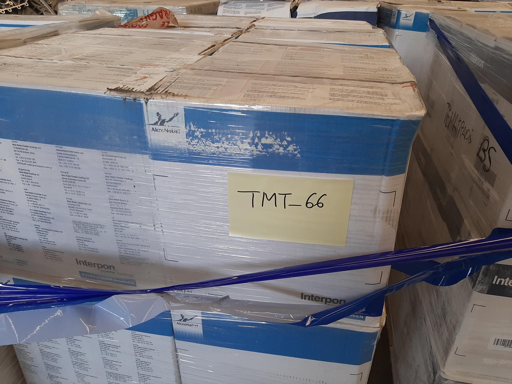 Scatole polvere verniciante e materiale in vendita - foto 5