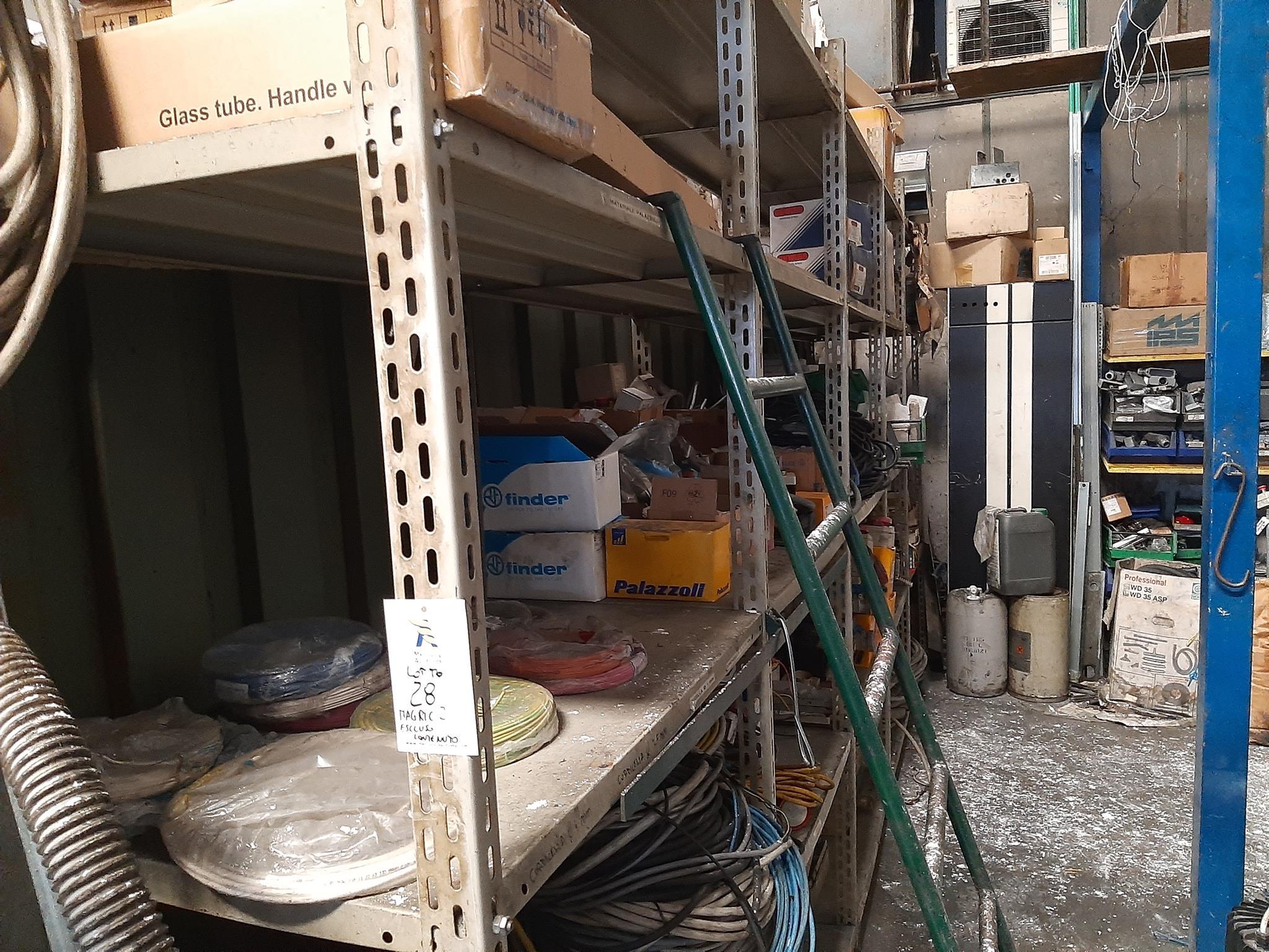Magazzino componenti elettrici in vendita - foto 1