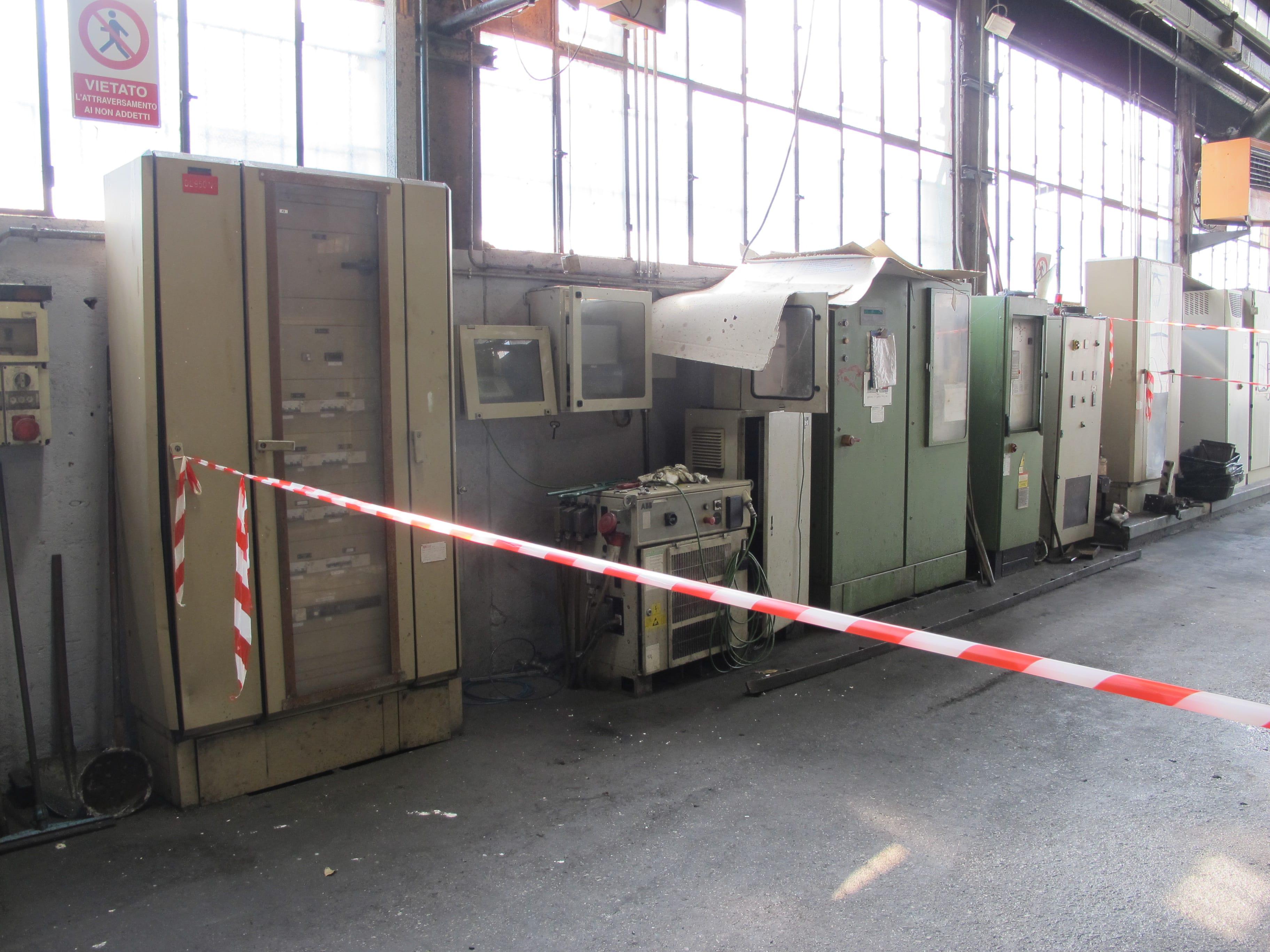 ISOLA PRESSOFUSIONE IDRA OL950 N2 - RF02 in vendita - foto 1