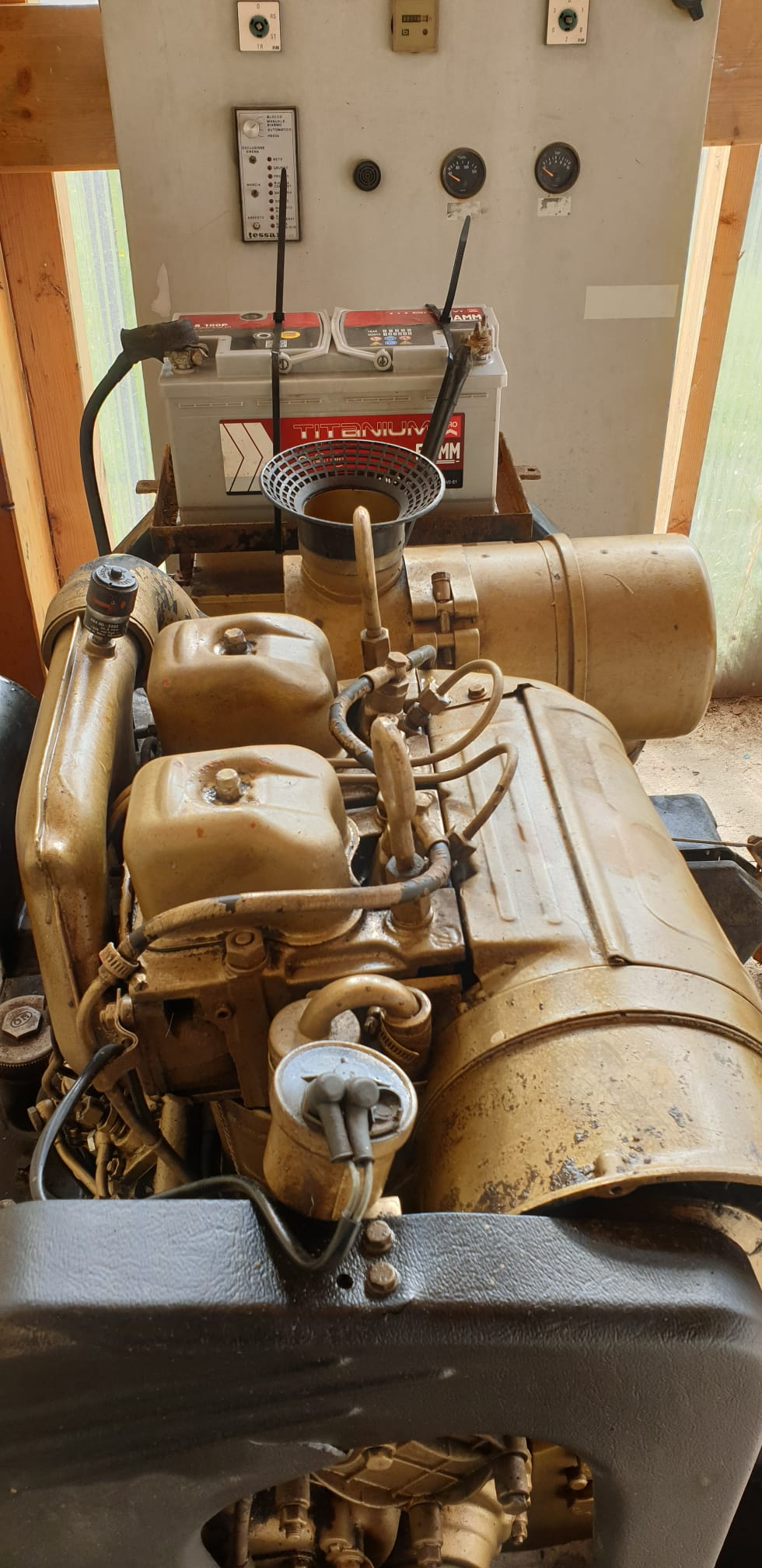 Gruppo Elettrogeno 20 KW Tessari Automatico in vendita - foto 4