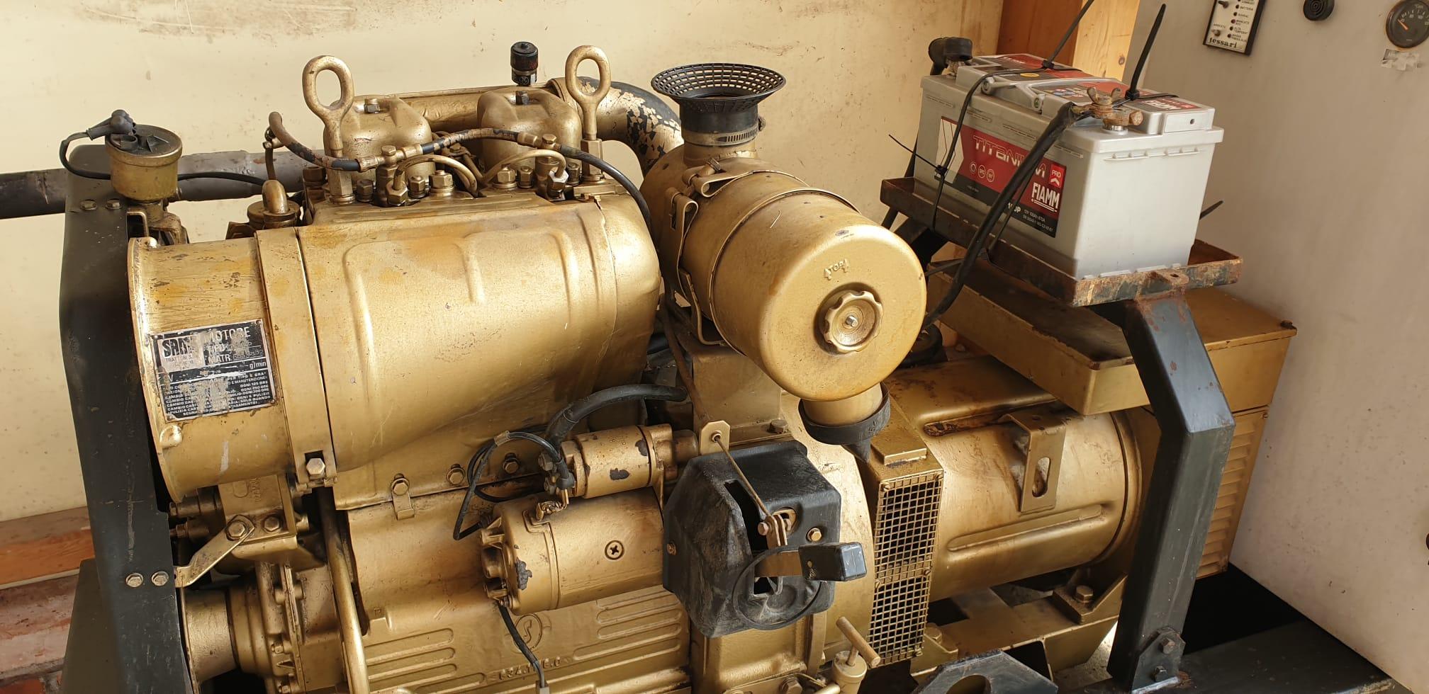 Gruppo Elettrogeno 20 KW Tessari Automatico in vendita - foto 1