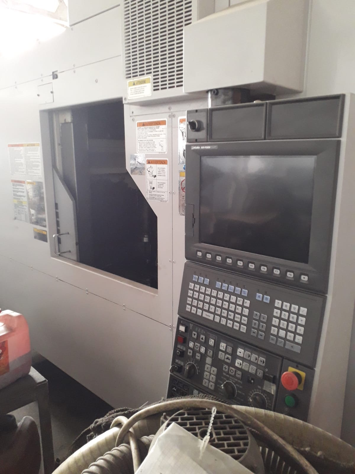 VENDO CENTRO DI LAVORO VERTICALE OKUMA MF-46VA in vendita - foto 4